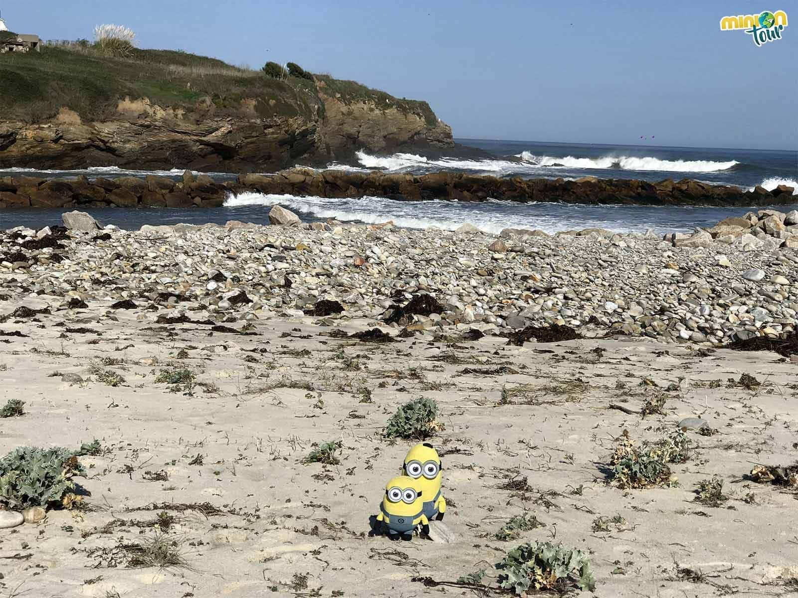 Buscando oro en la Playa Pampillosa