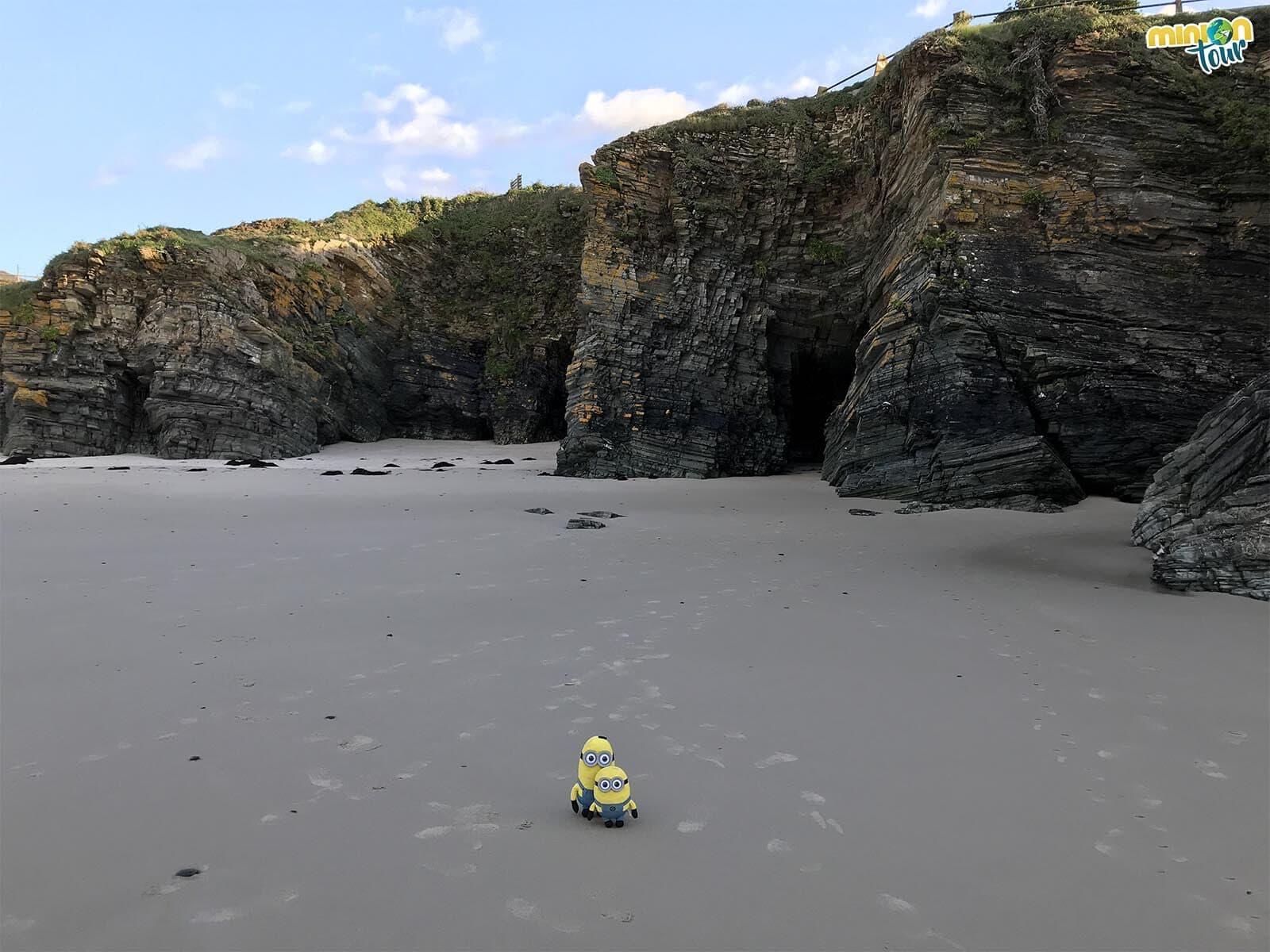 La Playa de Os Castros es otra de nuestras favoritas en la ruta por la costa de Lugo