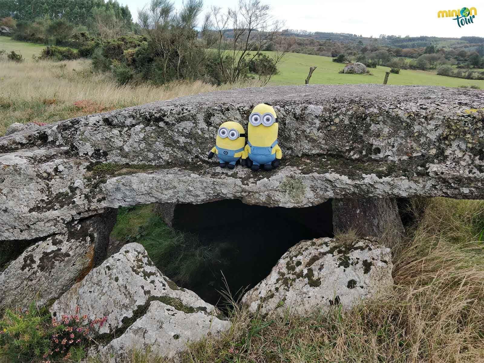 Seguimos descubriendo este monumento megalítico