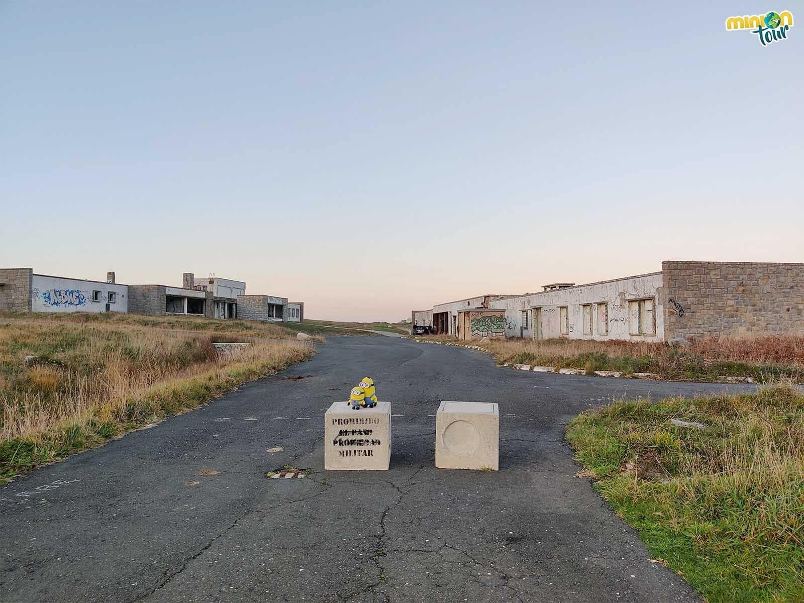 Desde aquí no se puede pasar para ver la Base de Loran en Estaca de Bares