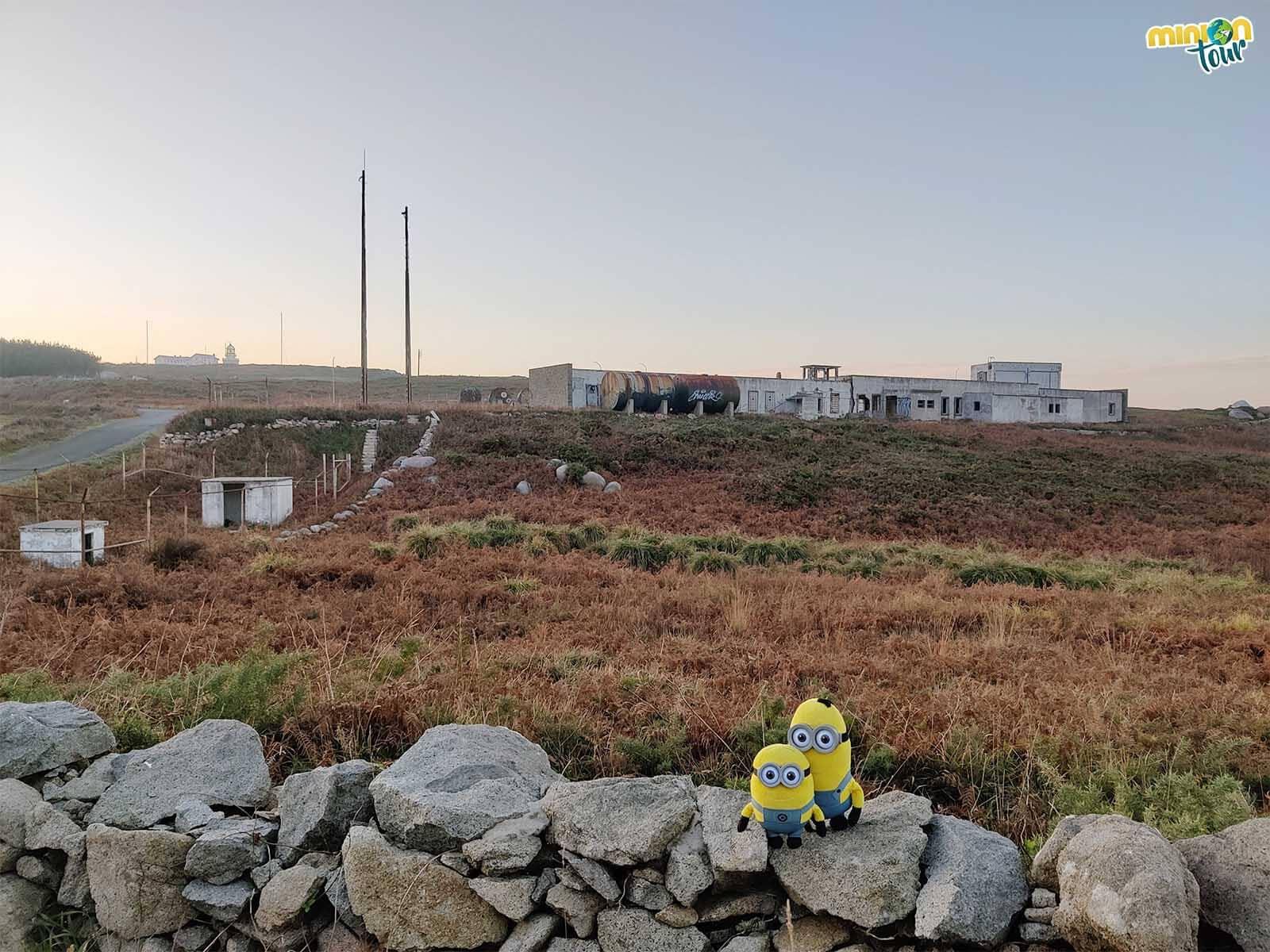 Desde aquí también se ve la base militar de Estaca de Bares
