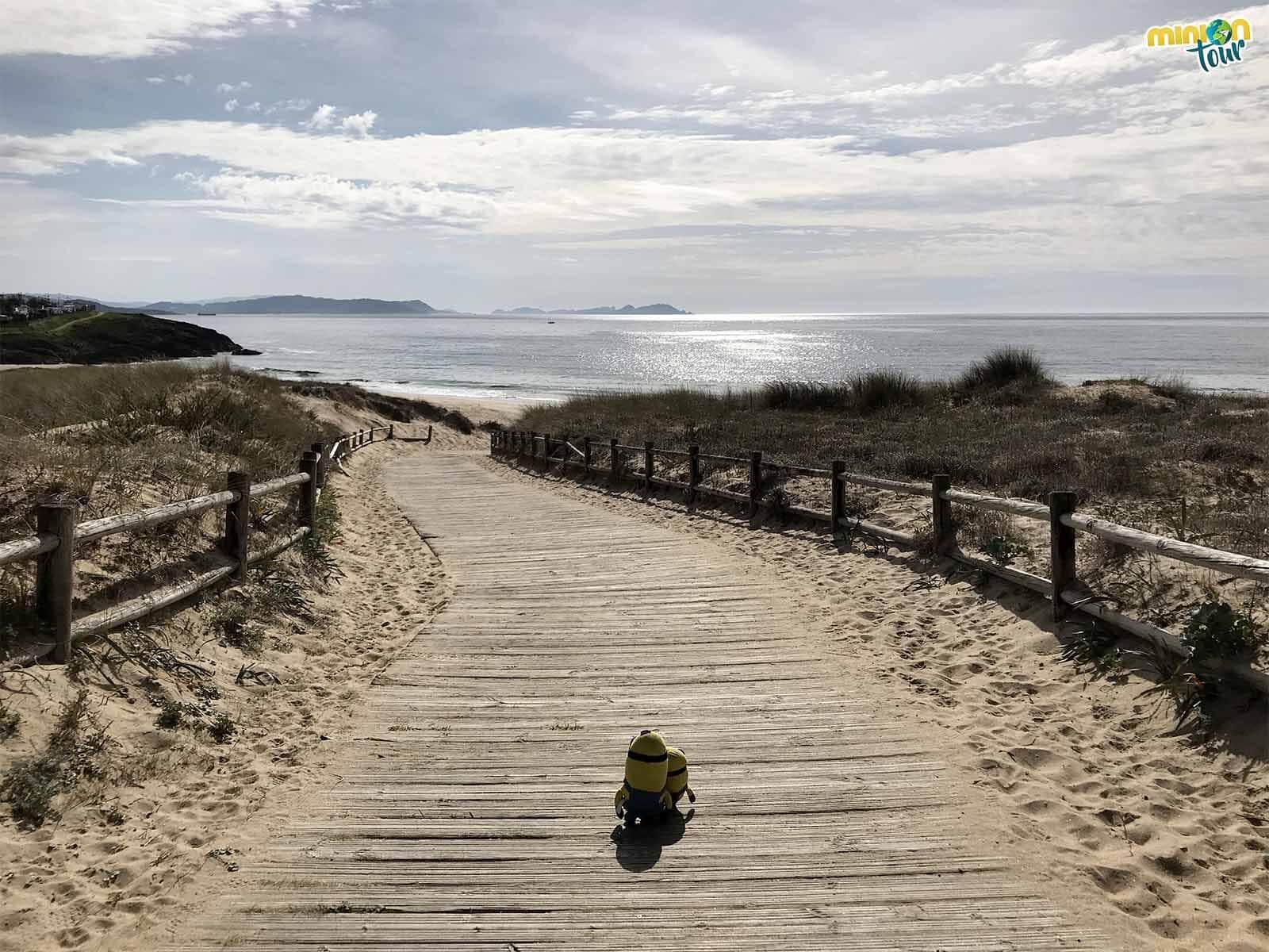 Hoy toca flipar con la Playa de La Lanzada y sus alrededores