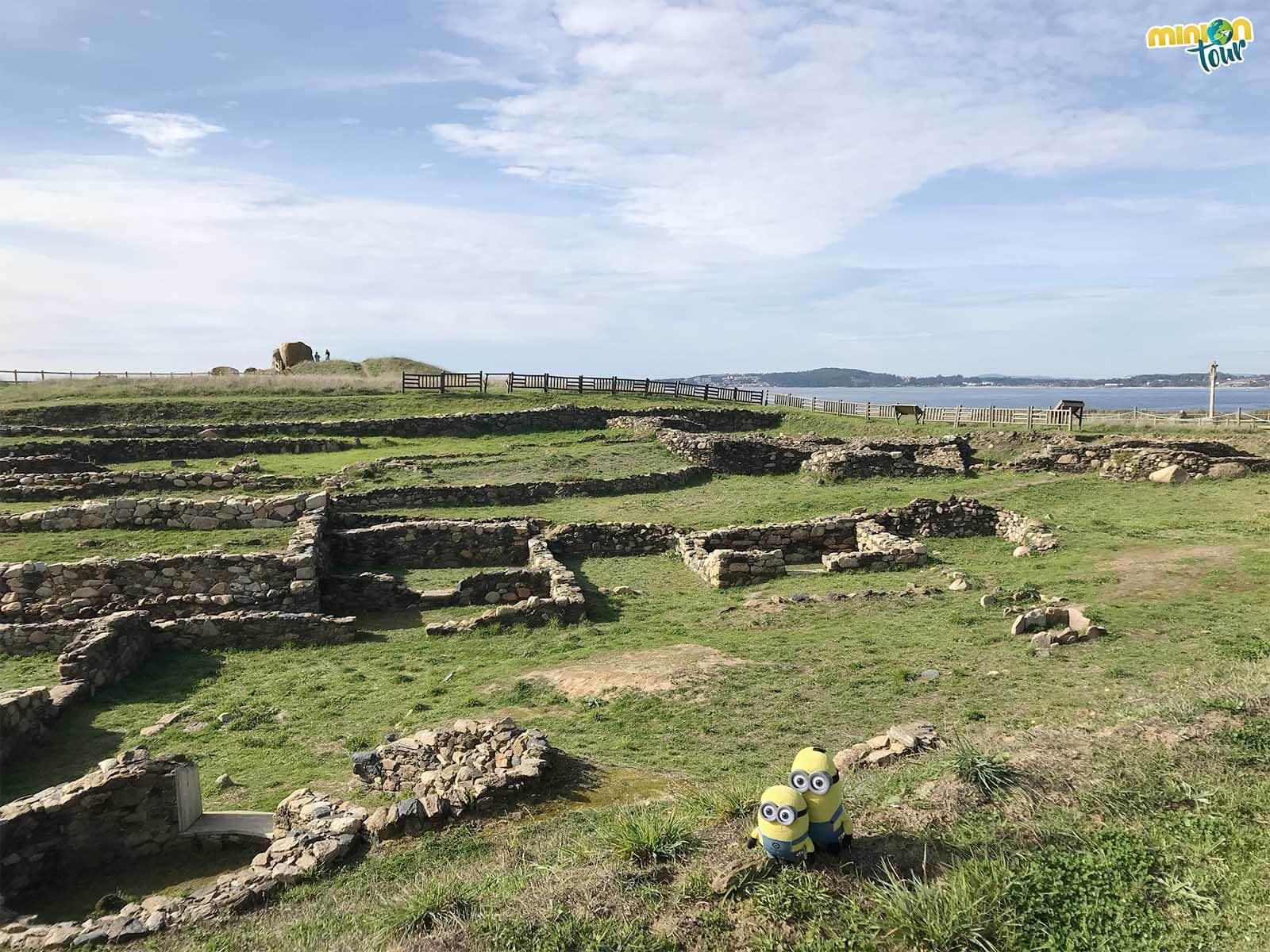Hemos descubierto el área arqueológica de A Lanzada