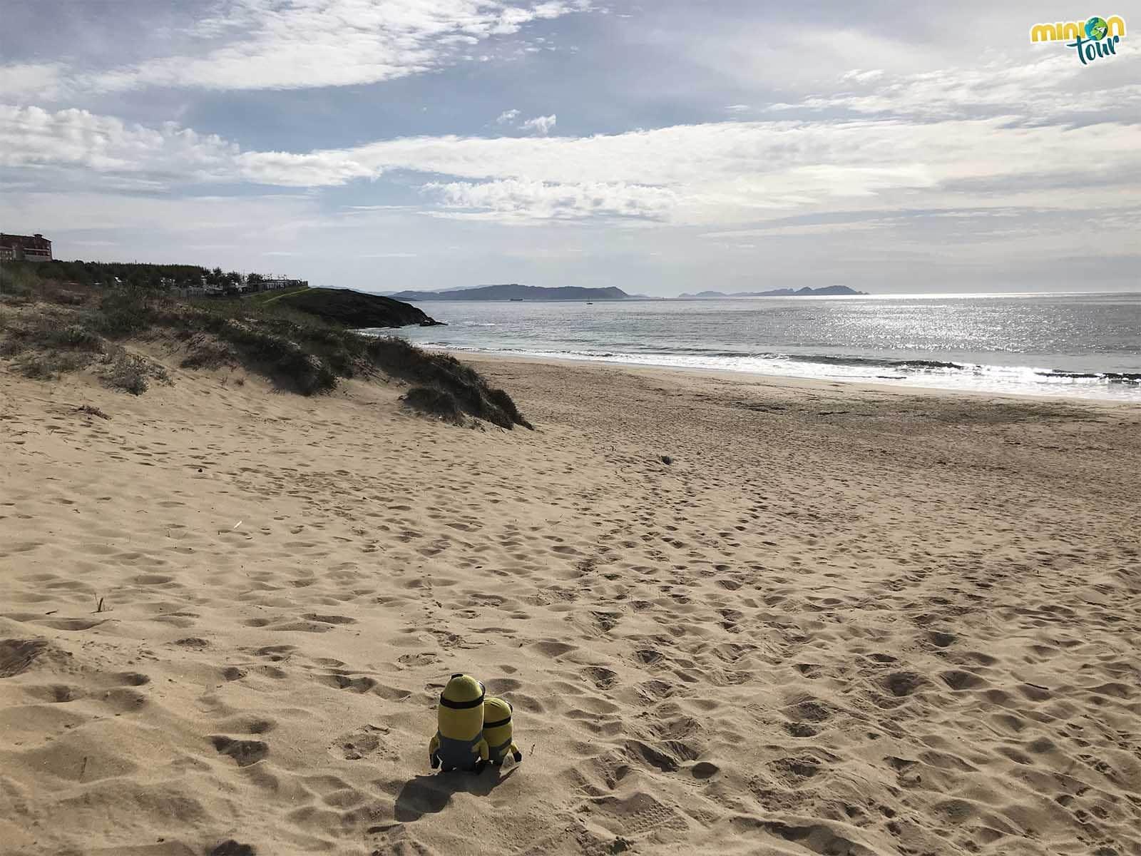 Ahora toca otro bañito en la Playa de Montalvo