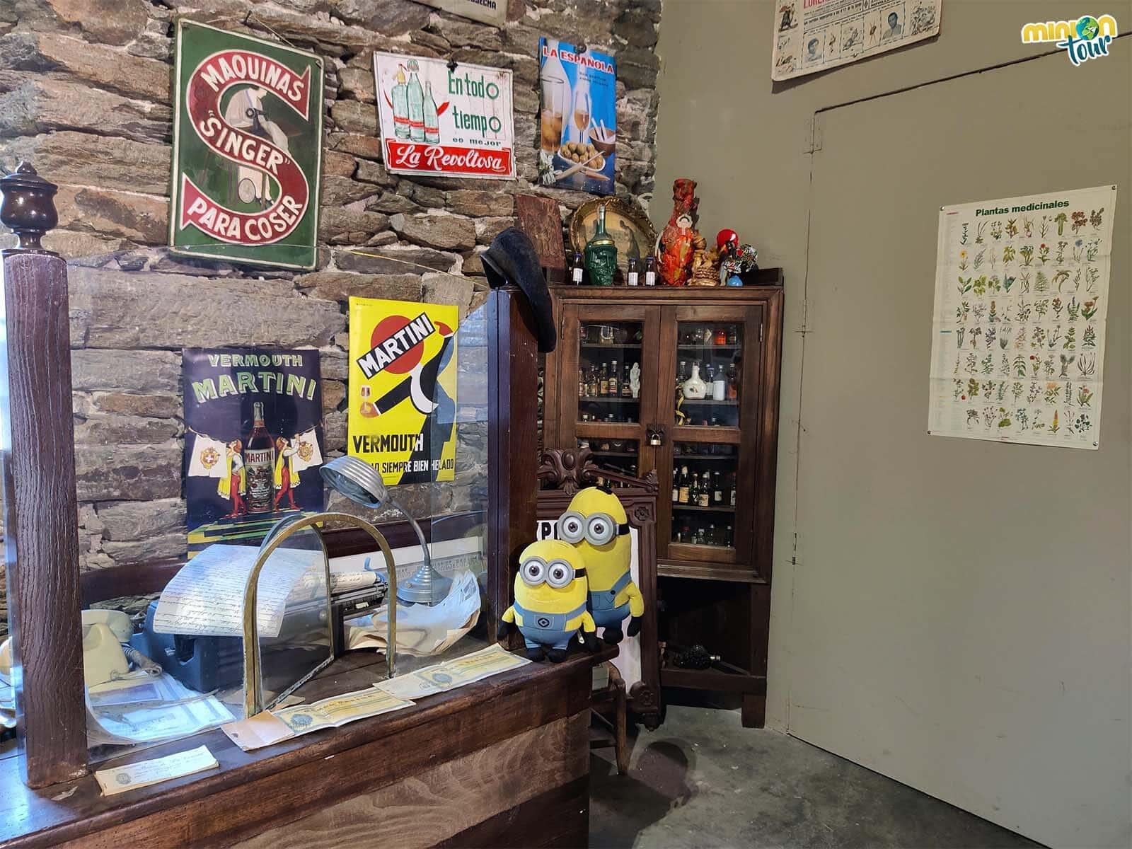 En la Panadería Museo Pallares te puedes encontrar hasta un despacho