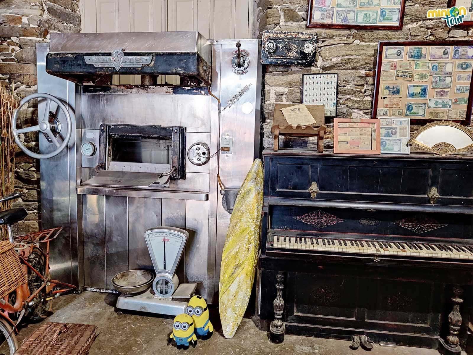 Este horno seguro que ha cocido muchos panes