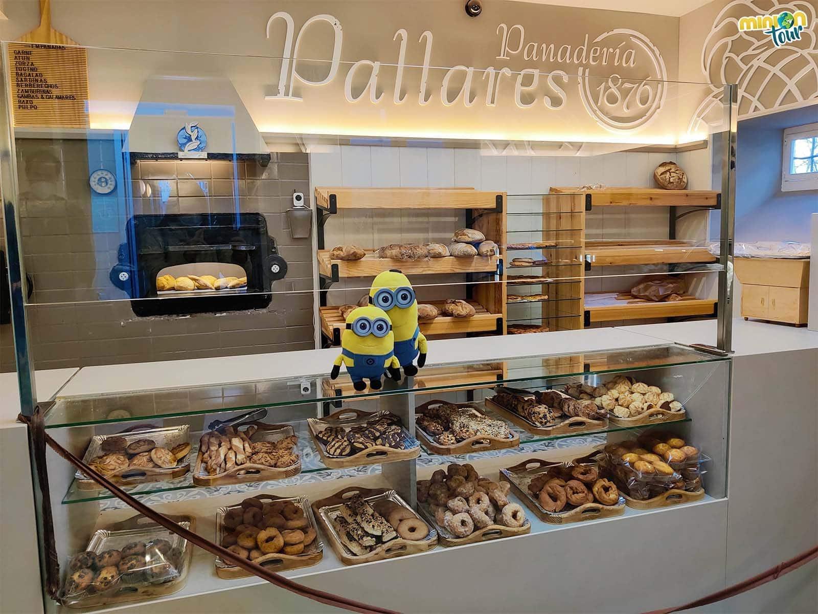 En la Panadería Pallares hay demasiadas cosas ricas para elegir