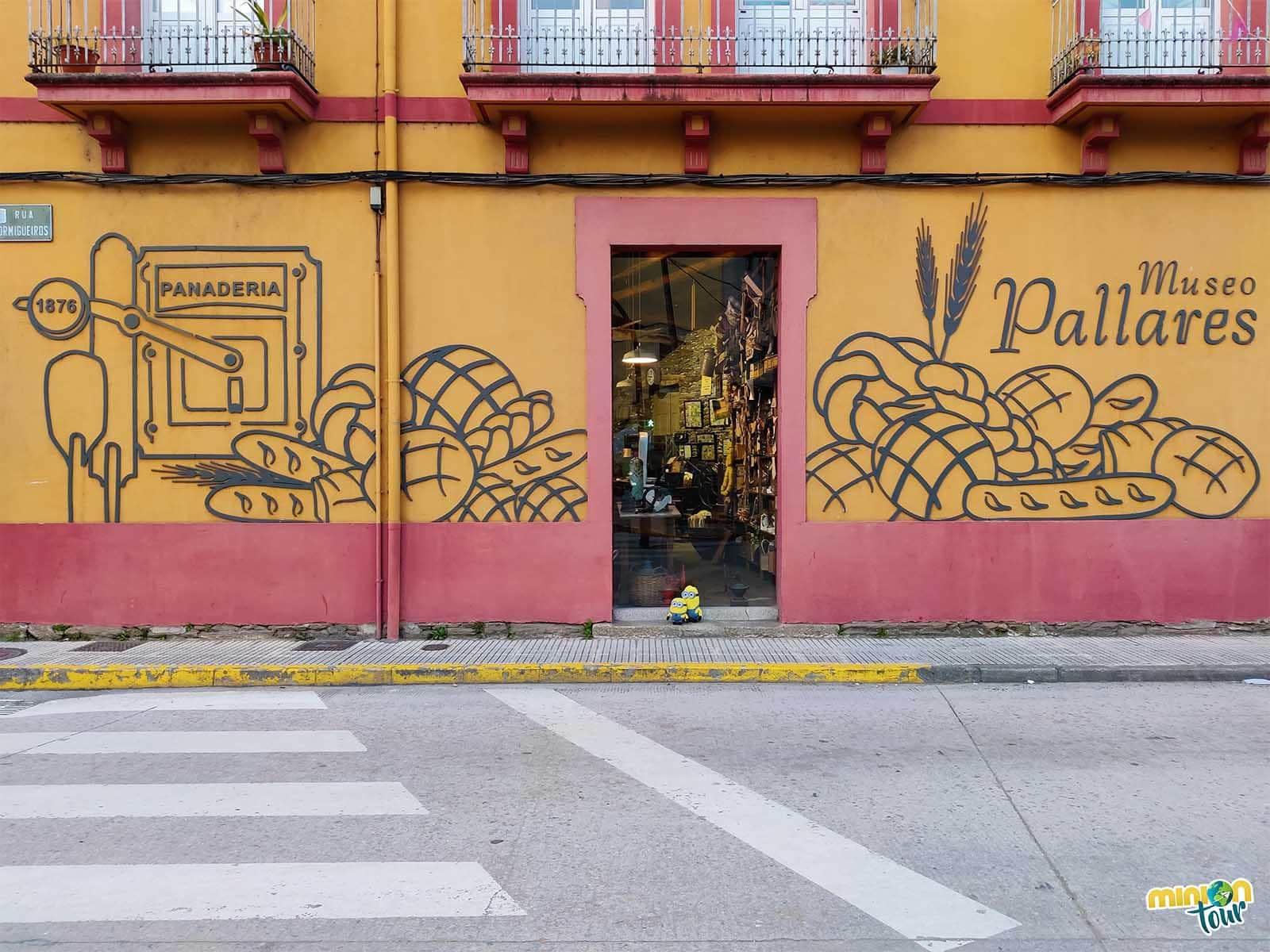Los escaparates de la Panadería Museo Pallares son una pasada