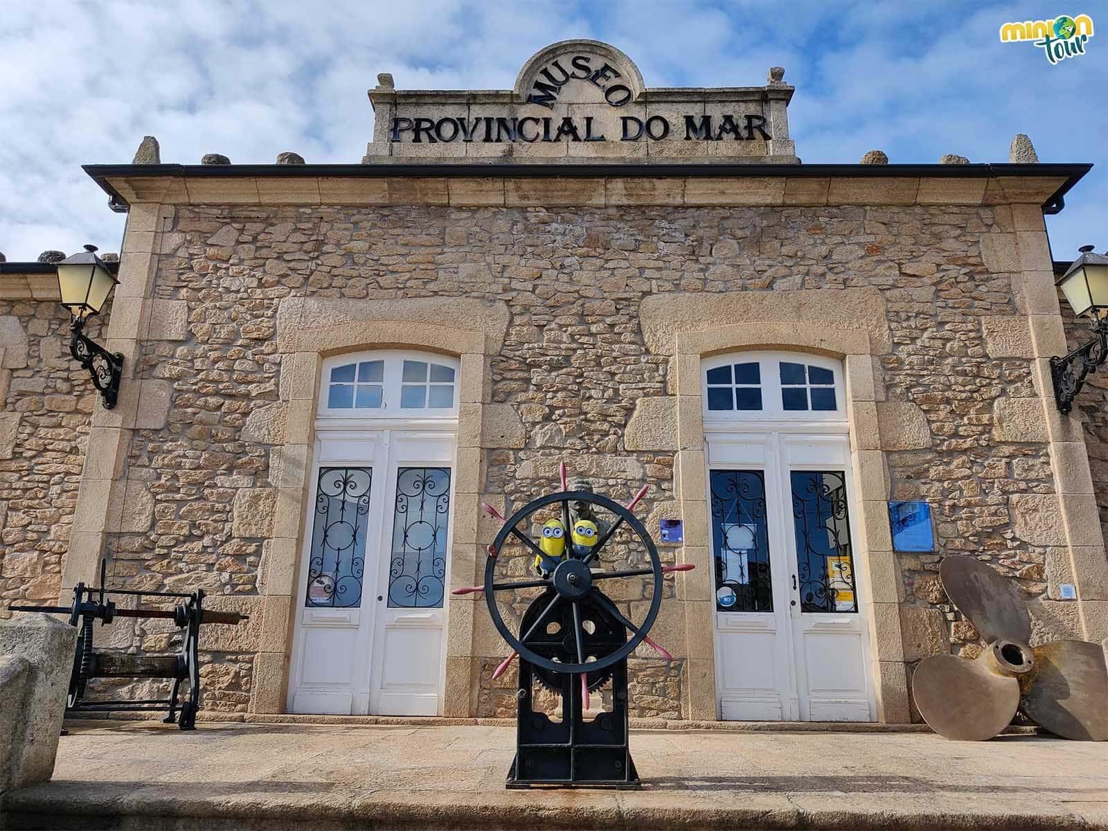 El Museo Provincial del Mar es otro de los sitios que ver en San Cibrao
