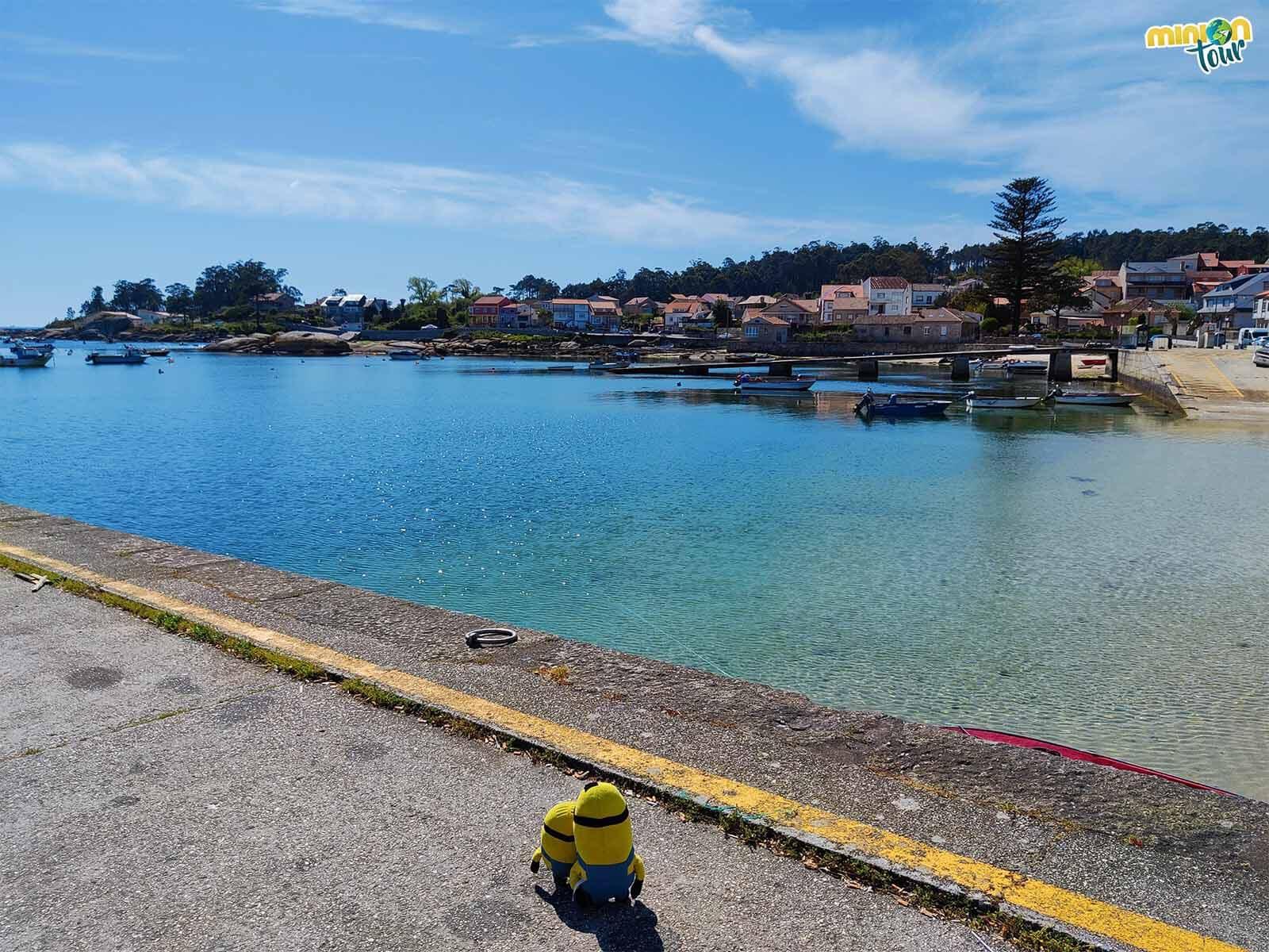 El Muelle de Pau tiene una historia curiosa y es una de las cosas que ver en A Illa de Arousa