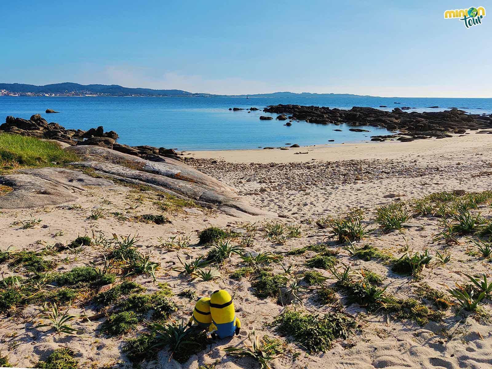 Las playas vírgenes del Parque Natural de O Carreirón nos fascinan