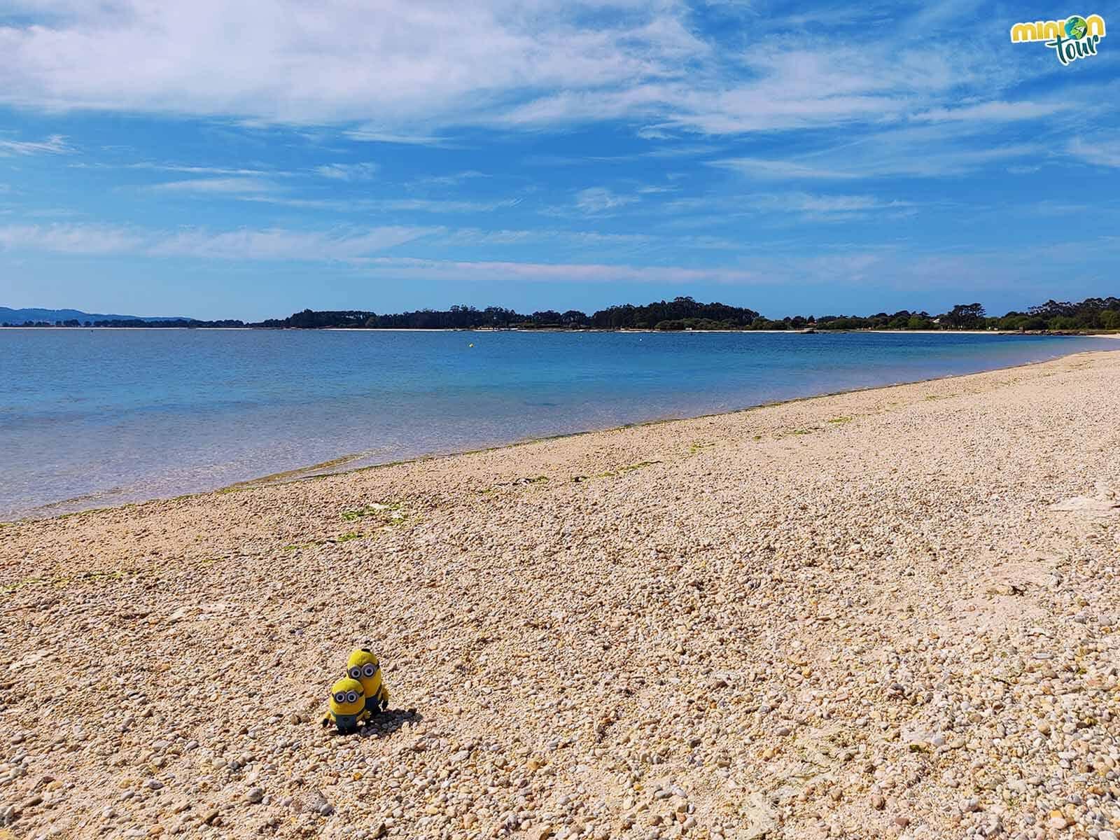 La Playa do Bao es una de las mejores playas de la Isla de Arosa