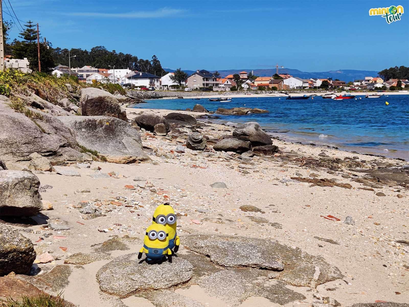 La playa que ves al fondo es la de Sapeira