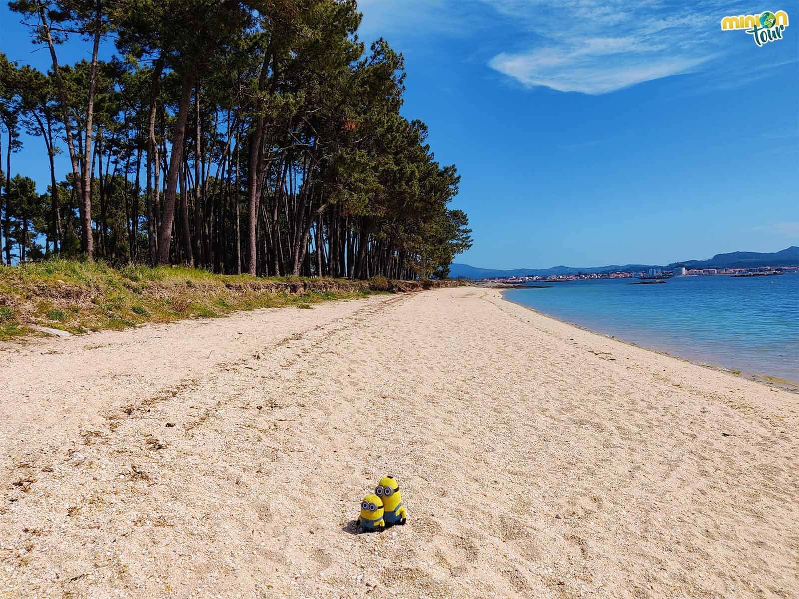 La Playa de Cabodeiro es una de las mejores playas de A Illa de Arousa