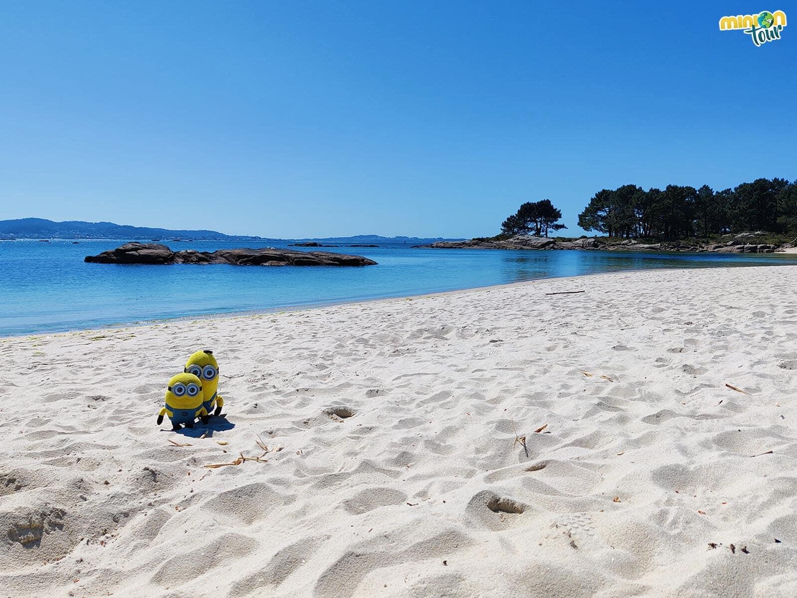 Una de las mejores playas de la Isla de Arosa