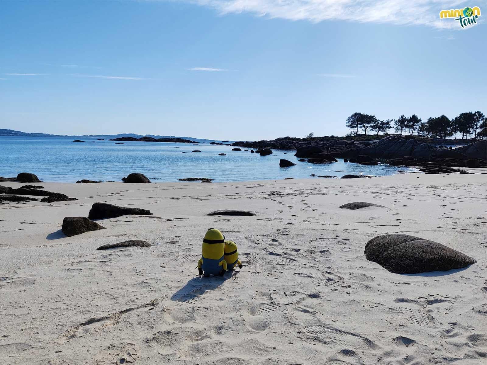 Las mejores playas de la Isla de Arosa están en O Carreirón