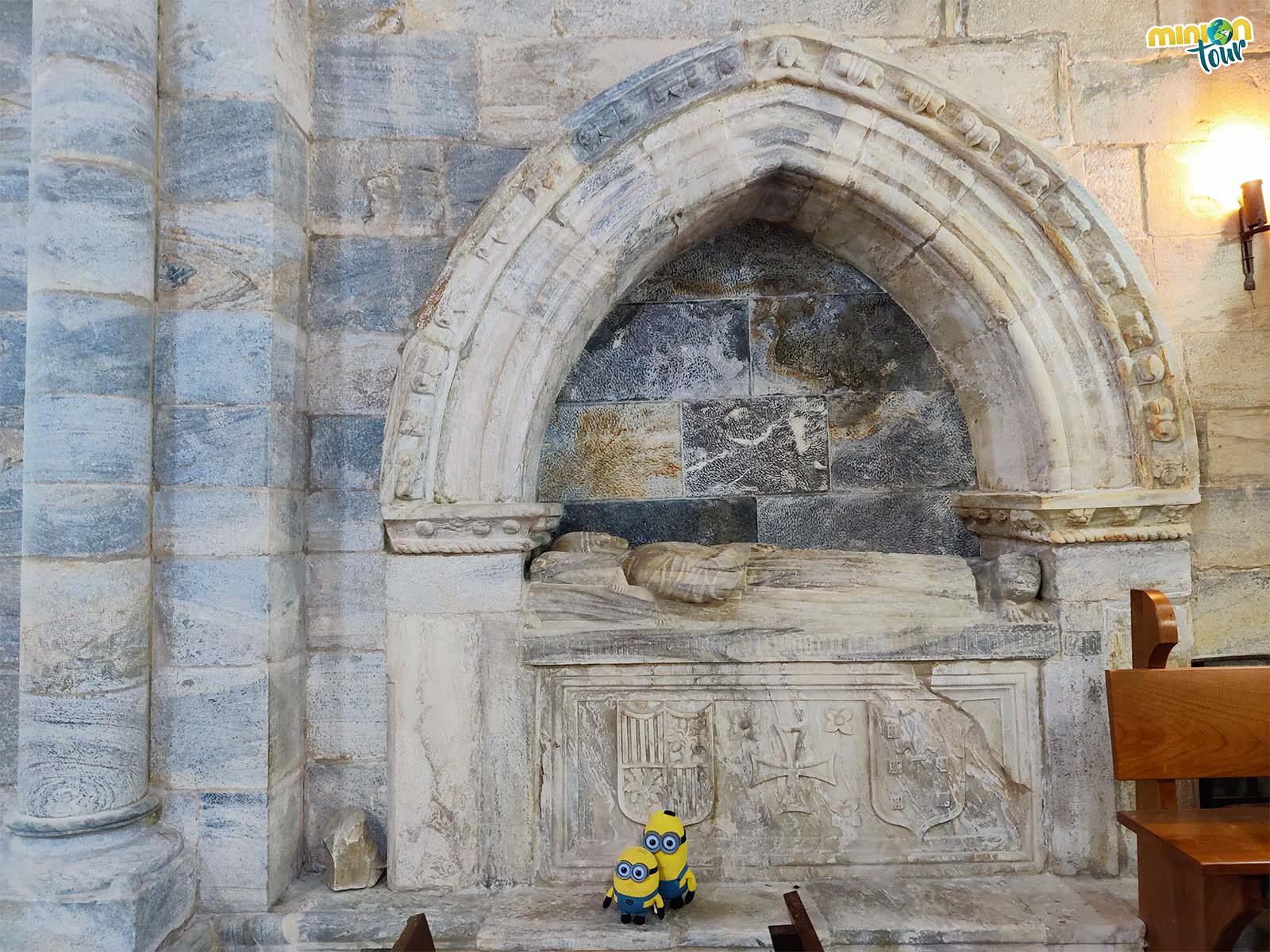 Esta cosa tan chula es el sepulcro de Álvaro de Quiroga