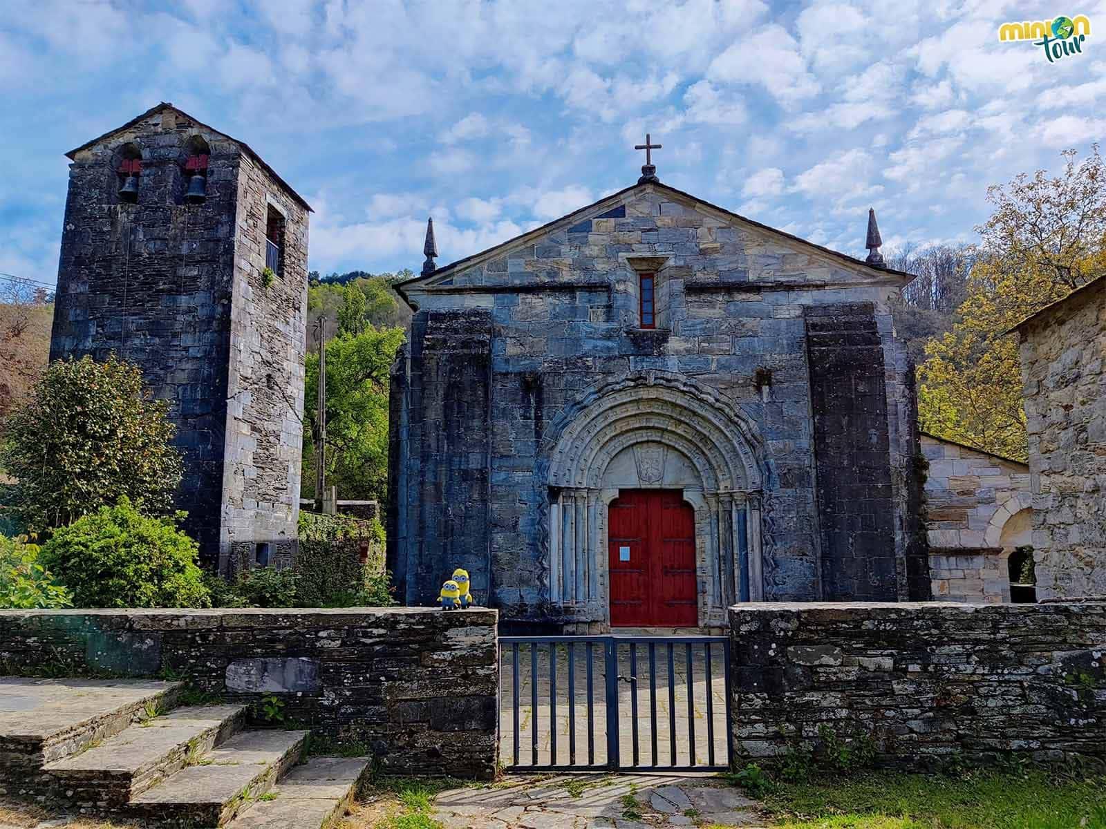 La Iglesia de San Pedro Fiz de Hospital do Incio, la única iglesia románica de mármol de España