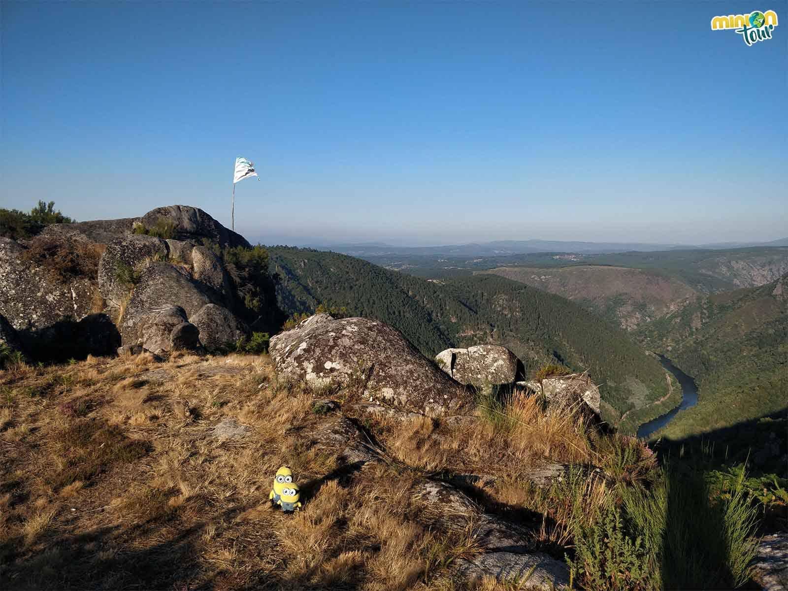Otro mirador de la Ribeira Sacra con vistas espectaculares