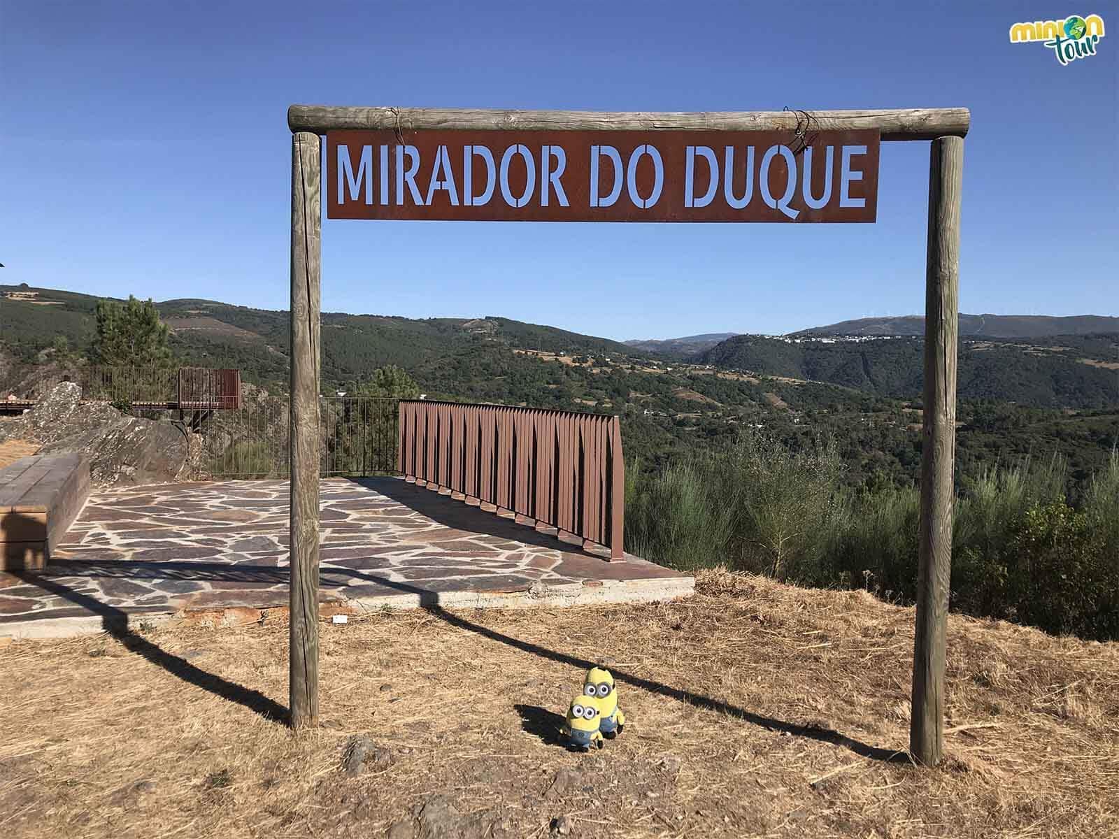 El Mirador del Duque es uno de los miradores chulos de los Cañones del Sil de la Ribeira Sacra de Lugo