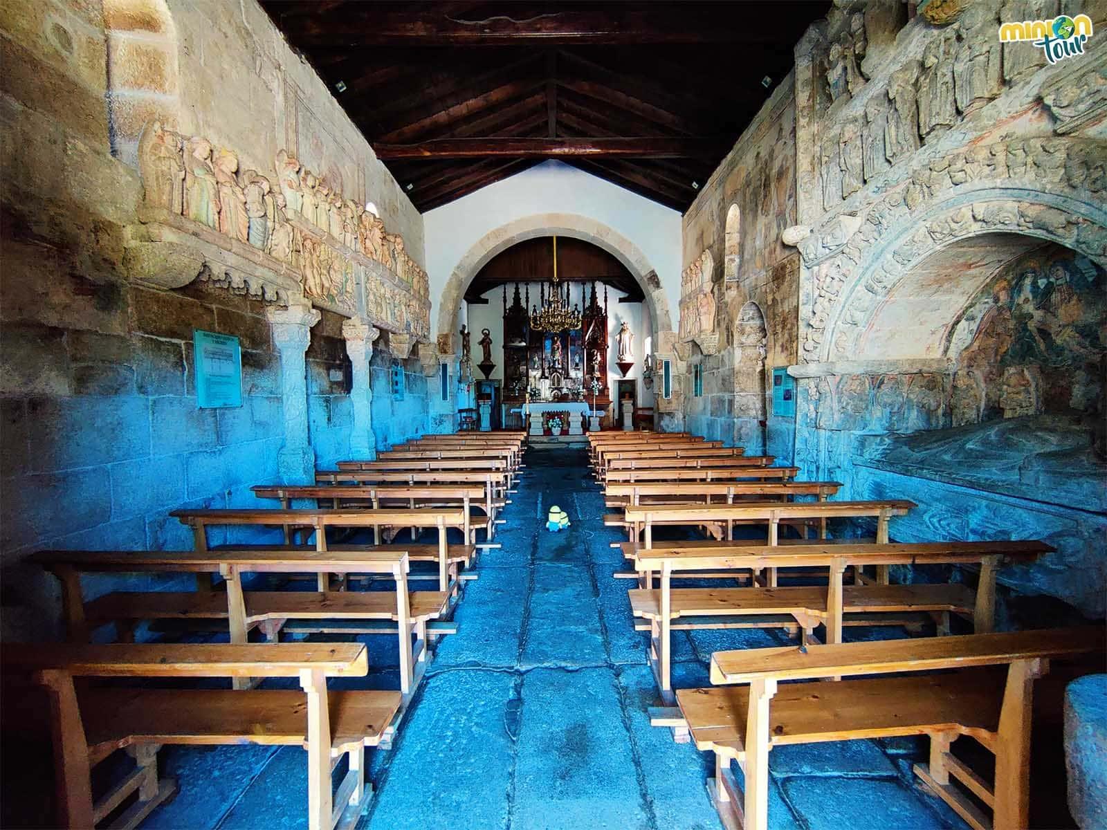 La Iglesia de San Xulián de Ventosa en Agolada, la catedral del rural gallego