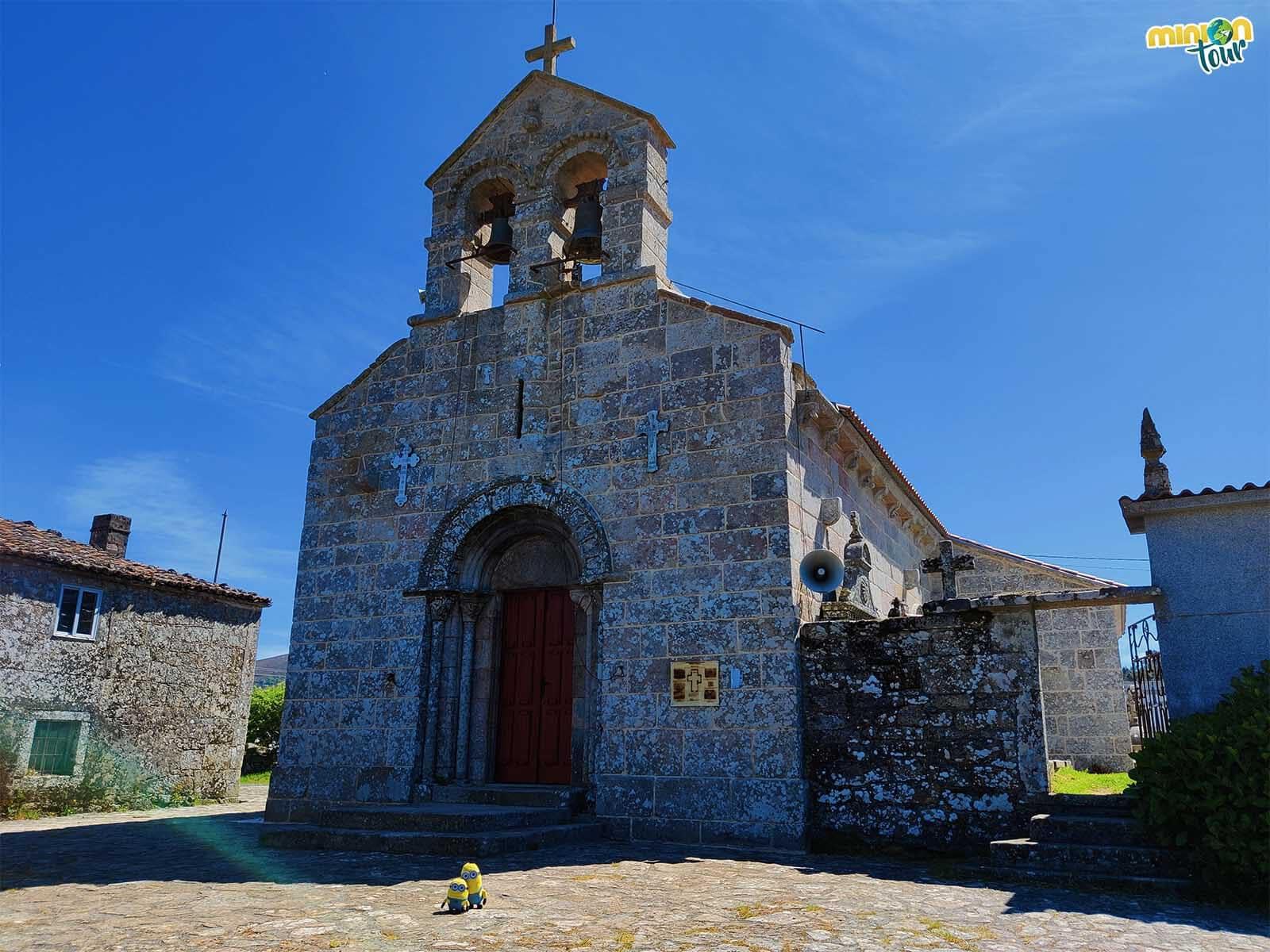 La Iglesia de Santa María de San Julián de Ventosa esconde varias joyas en su interior
