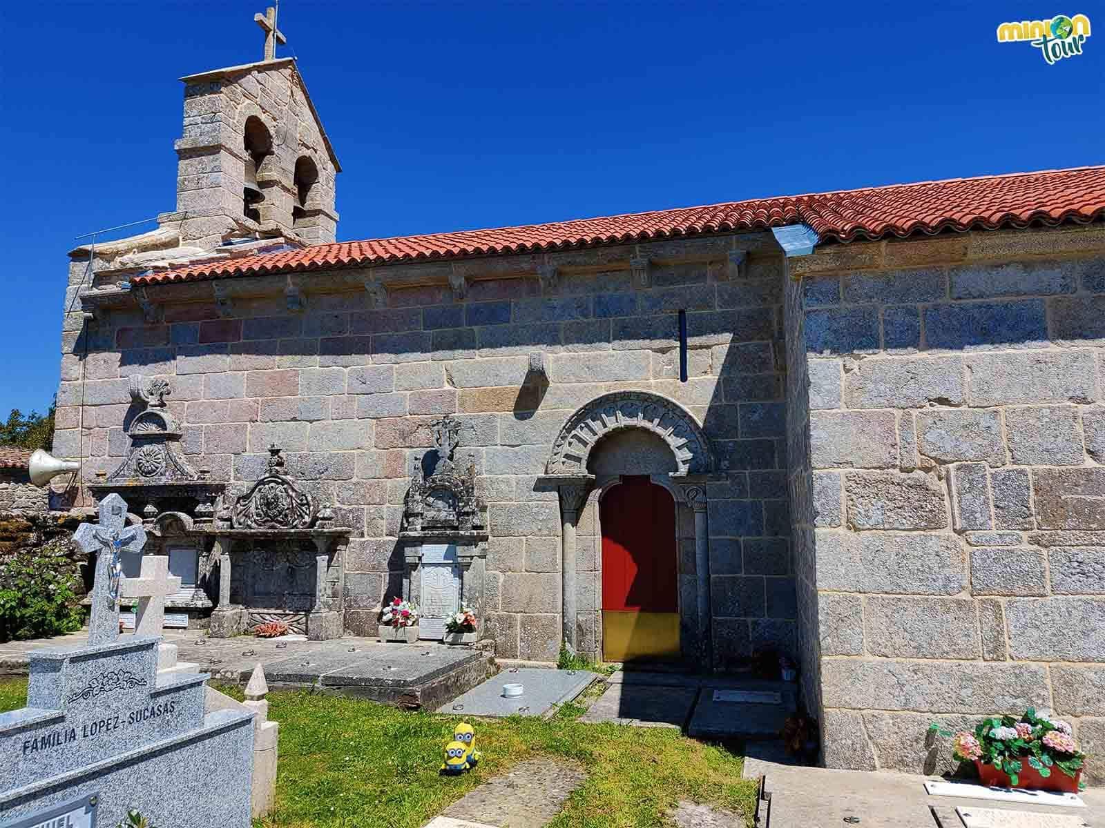 Otra vista de la Iglesia de San Xulián de Ventosa de Agolada
