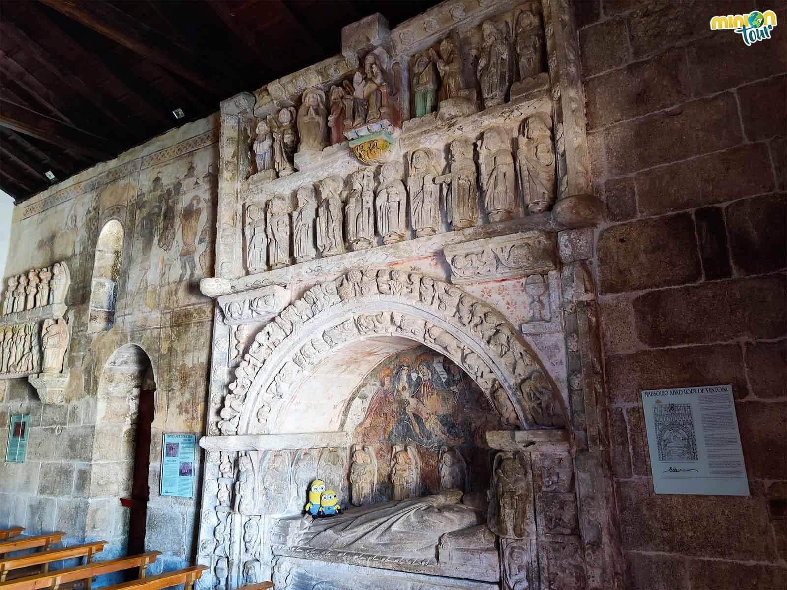 Estamos estudiando el mausoleo de Lope de Ventosa en la Iglesia de San Xiao de Ventosa de Agolada