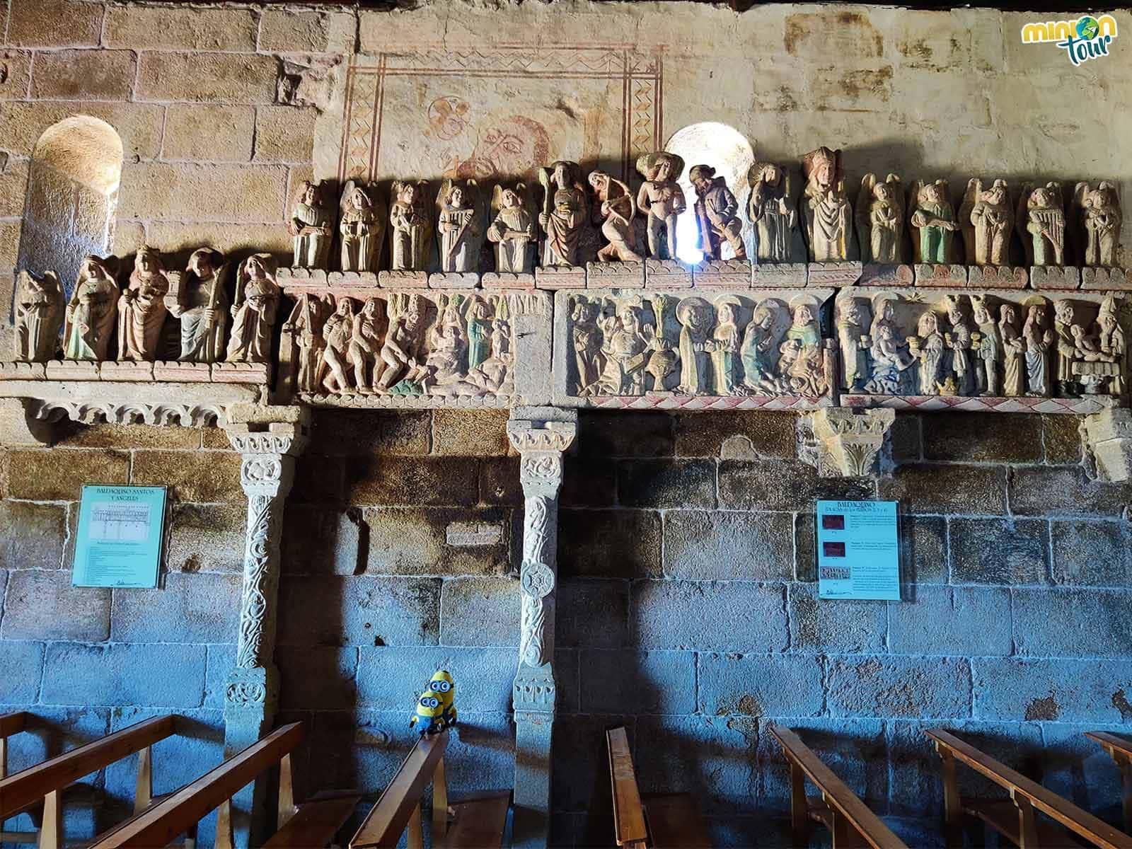 La Iglesia de Ventosa tiene hasta pinturas murales, no le falta de nada