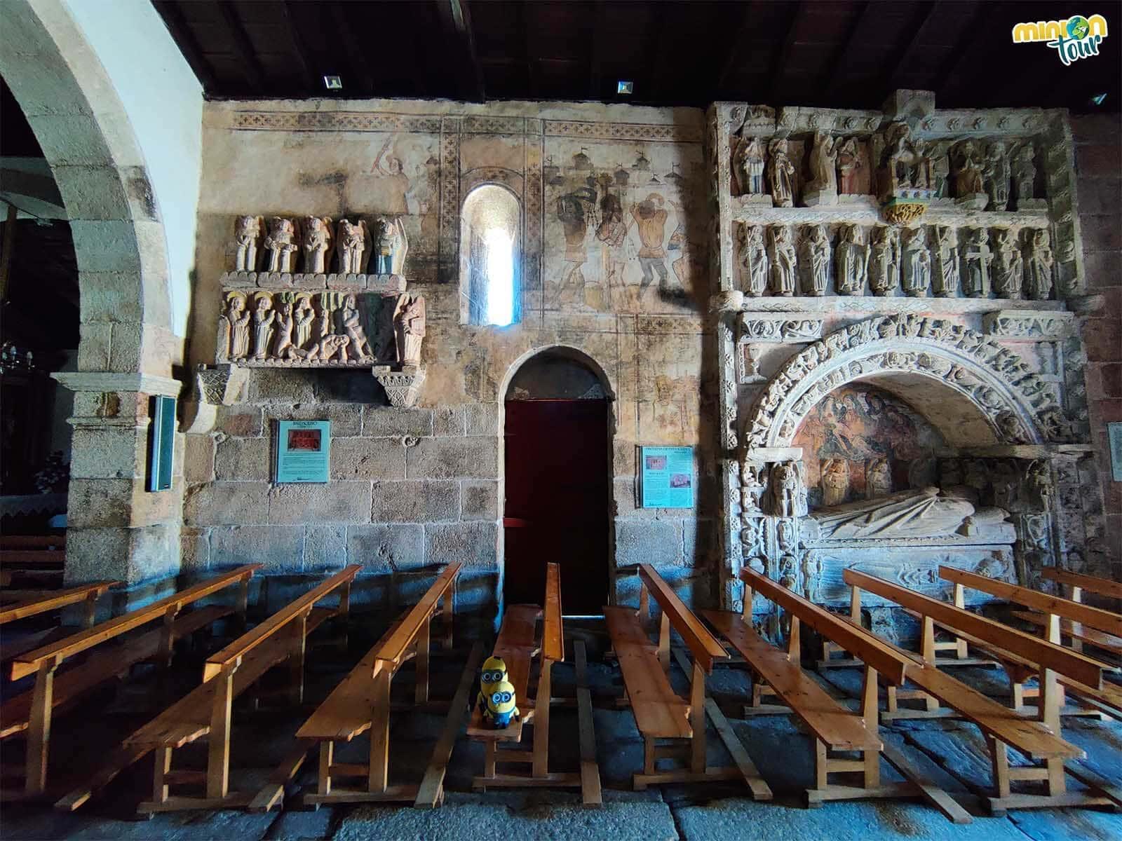 Las pinturas murales de la Iglesia de San Xiao de Ventosa son una pasada