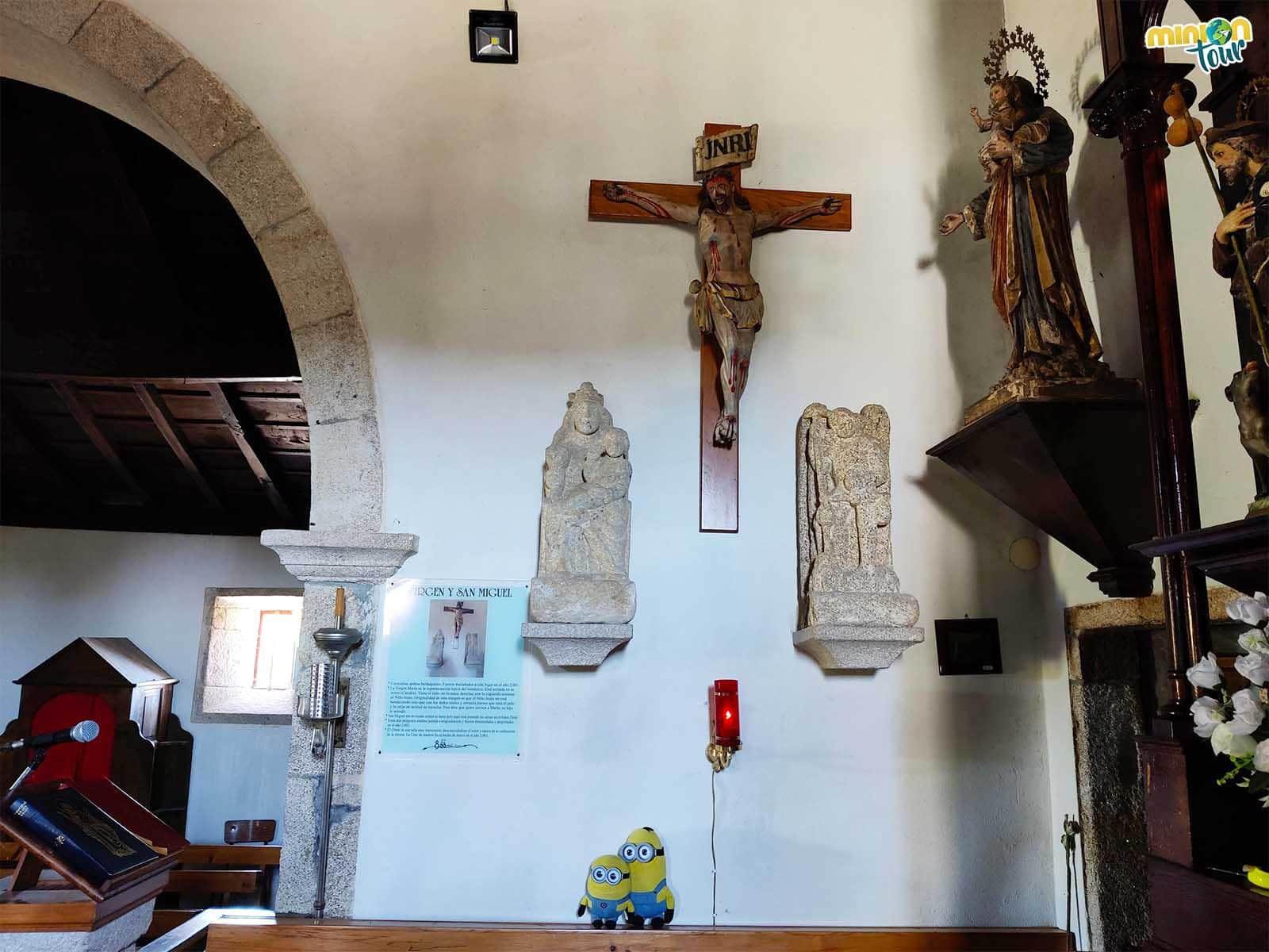 A San Miguel y la Virgen María también los cambiaron de sitio