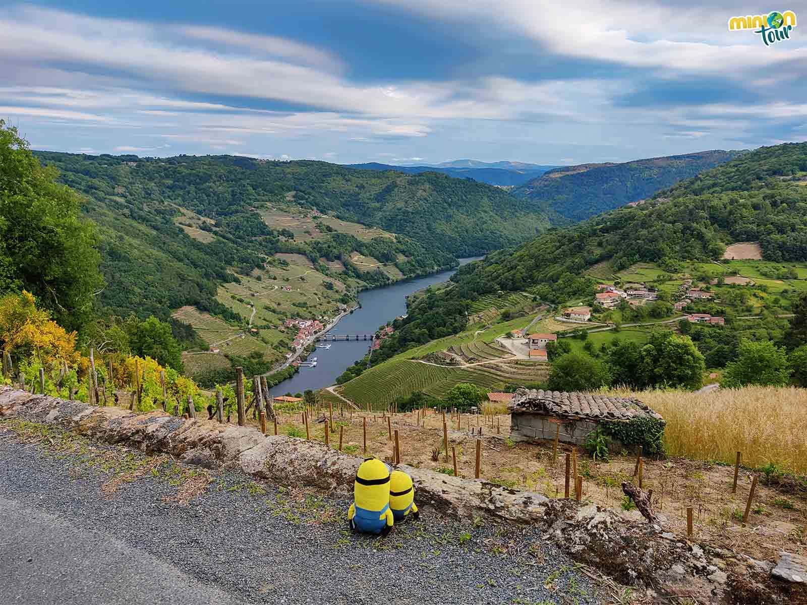 El Mirador de Líncora es uno de nuestros favoritos en la ruta por los miradores de los Cañones del Miño