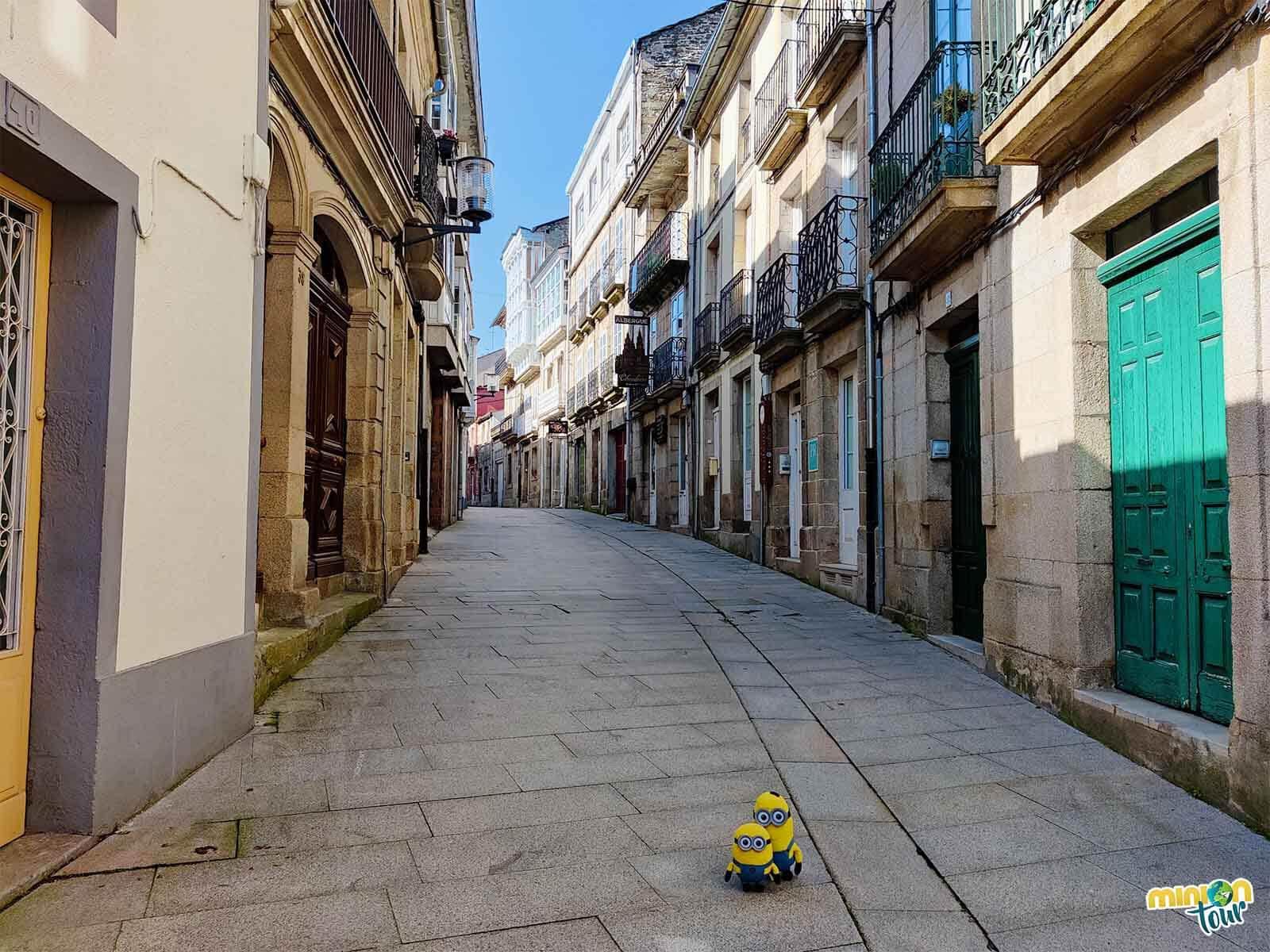 La calle Mayor es una de las cosas que tienes que ver en Sarria