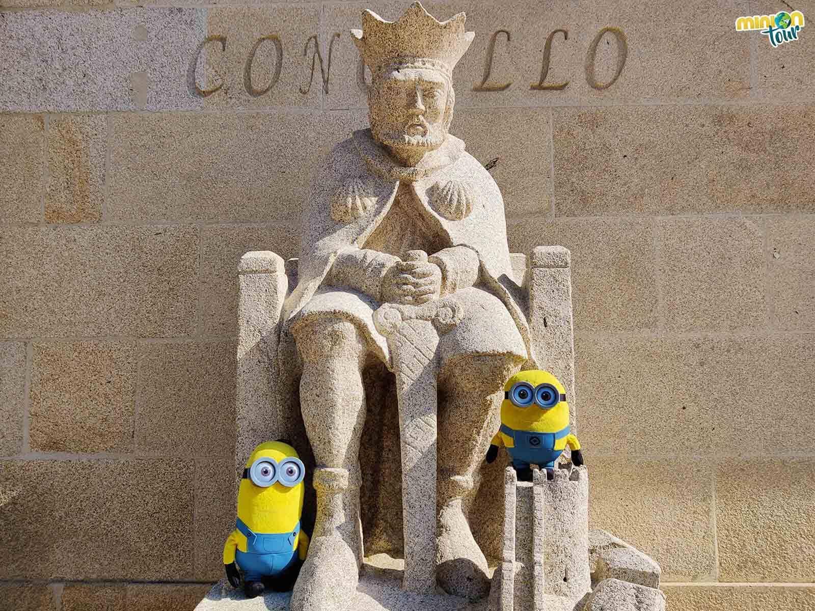 Nos hemos hecho amiguis del rey Alfonso IX