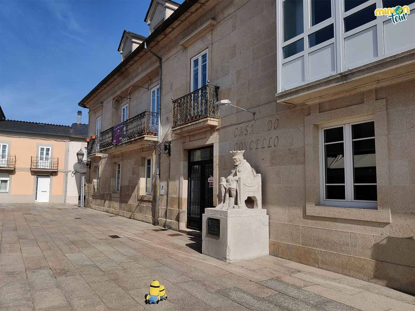 La Casa do Concello es otra casa chuli que ver en Sarria