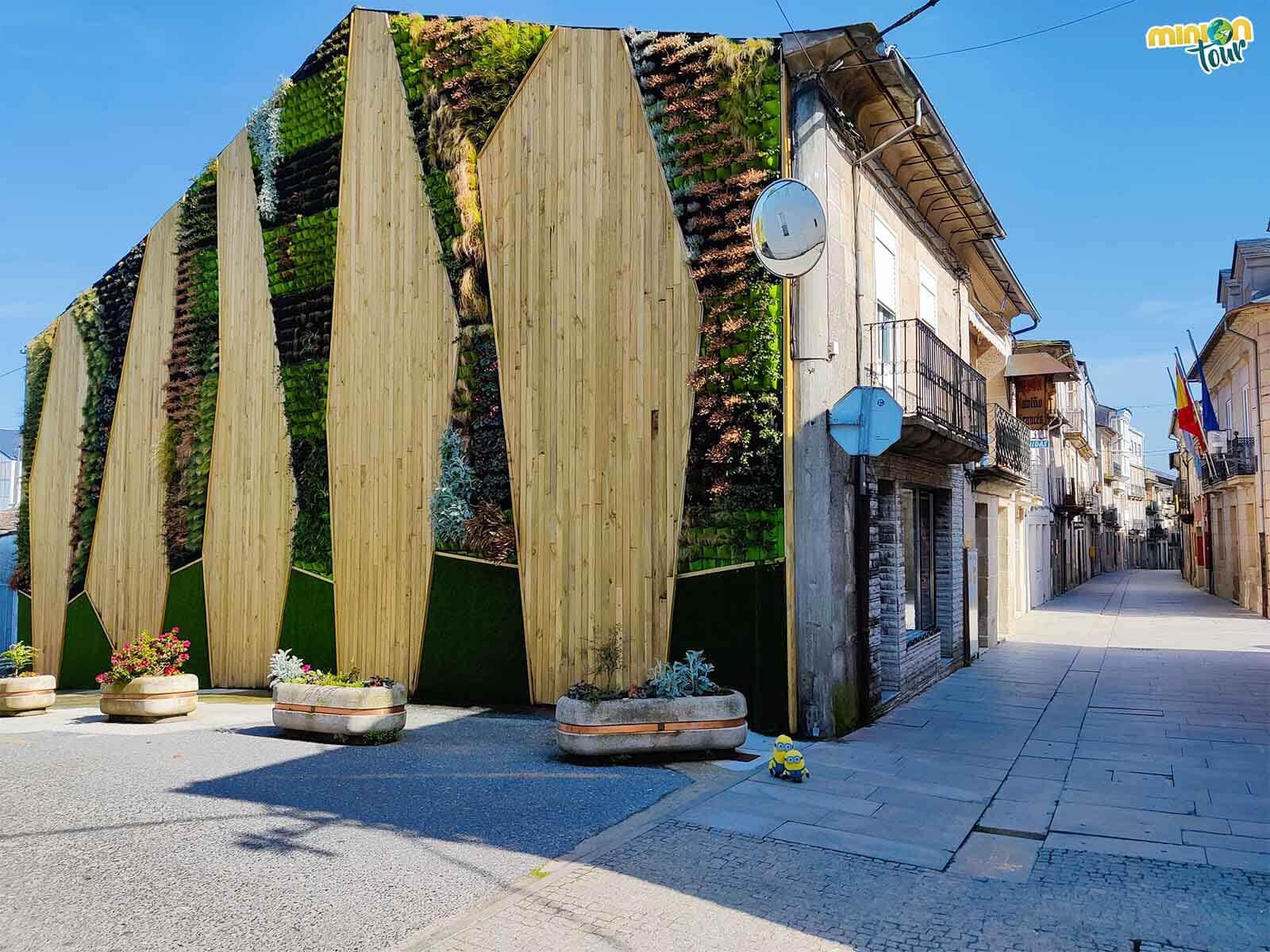 El jardín vertical es una cosa curiosa que ver en Sarria