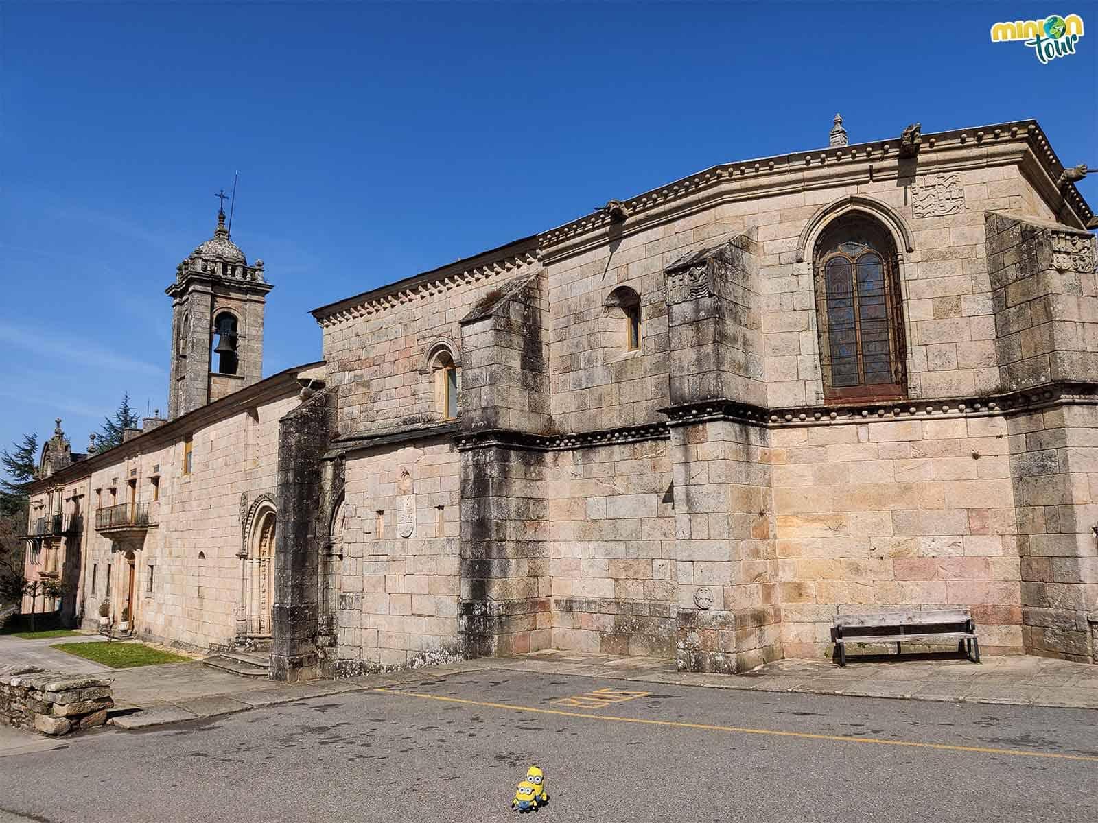 Uno de los imprescindibles que ver en Sarria es el Monasterio de la Magdalena