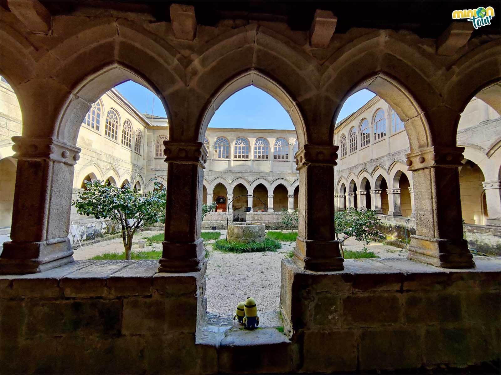 El Claustro del Monasterio de la Magdalena es una de las cosas que tienes que ver en Sarria