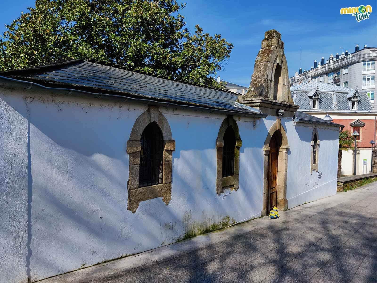 Otra capilla chula que ver en Sarria