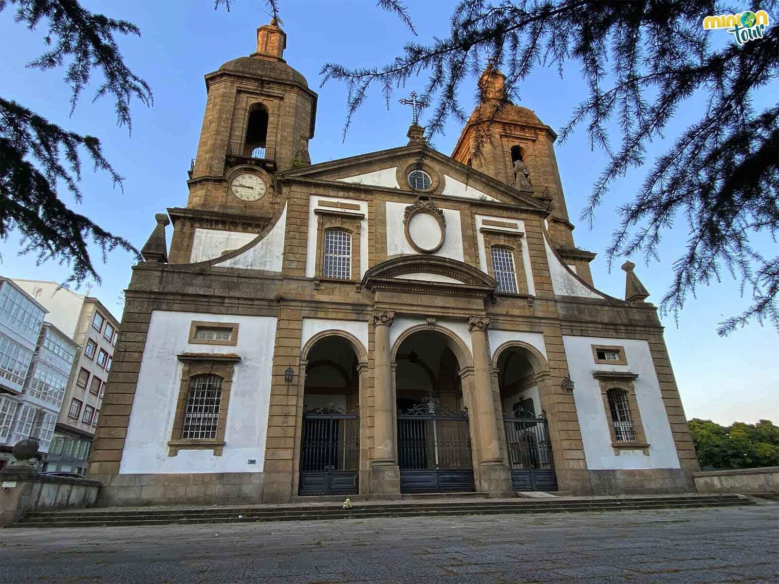 Minions en la Concatedral de San Julián de Ferrol