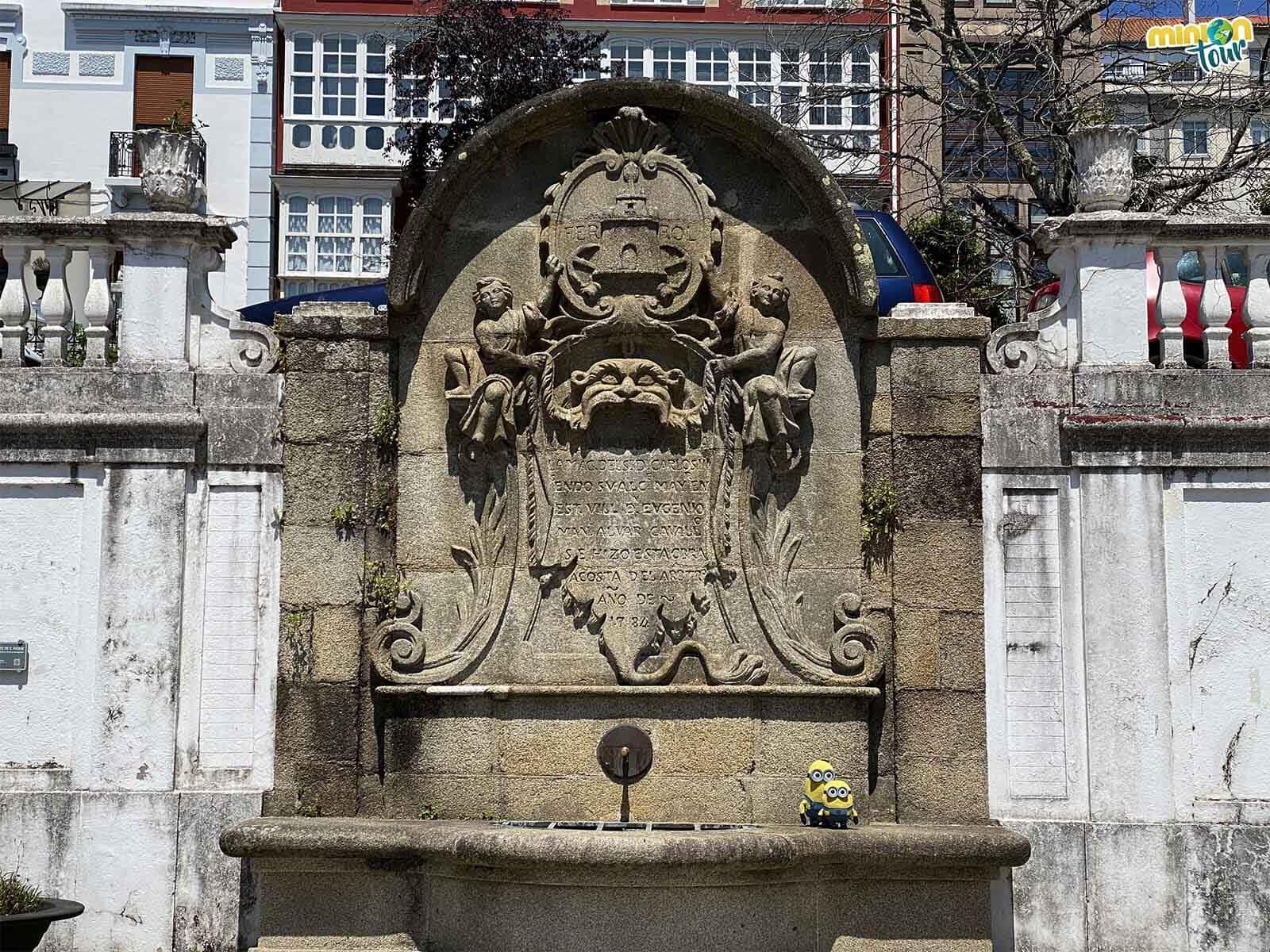La Fuente de San Roque es un rinconcito chulo de la ruta por el Ferrol de la Ilustración