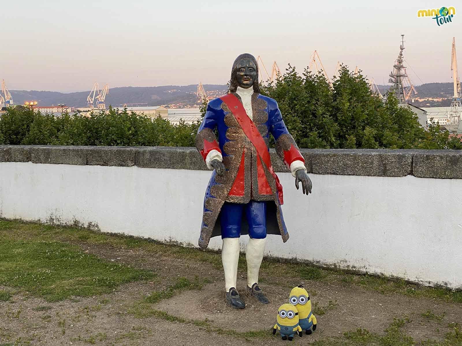 Hemos conocido a un personaje importante del Ferrol de la Ilustración
