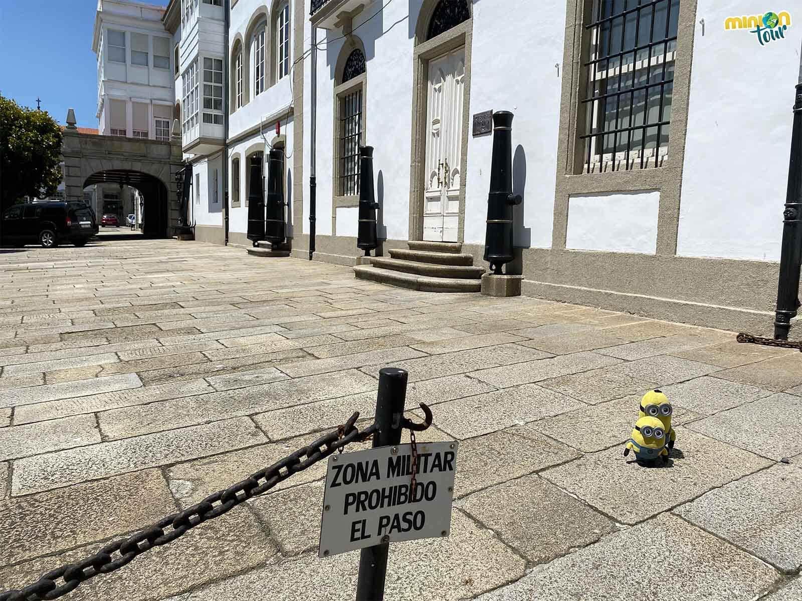 El Palacio de la Capitanía sigue siendo zona militar