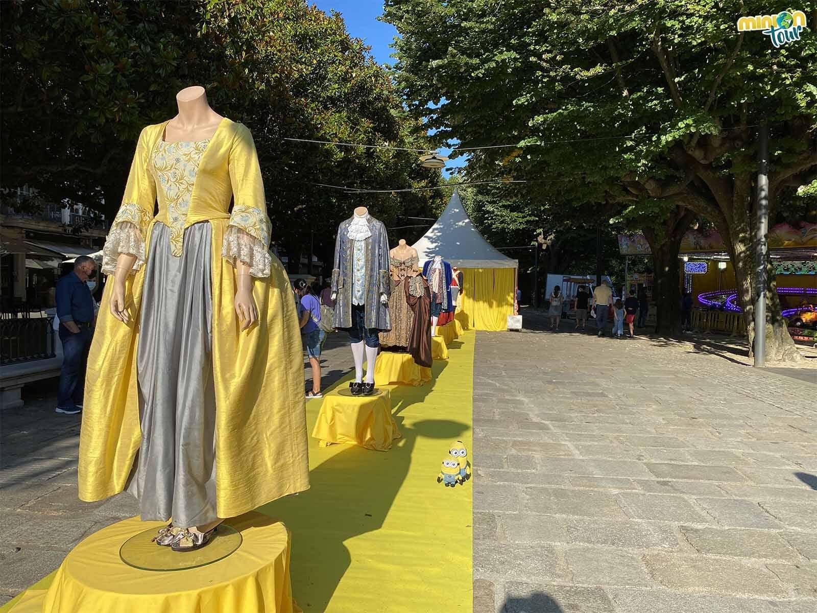 Estos son los trajes que se usaban en el Ferrol de la Ilustración