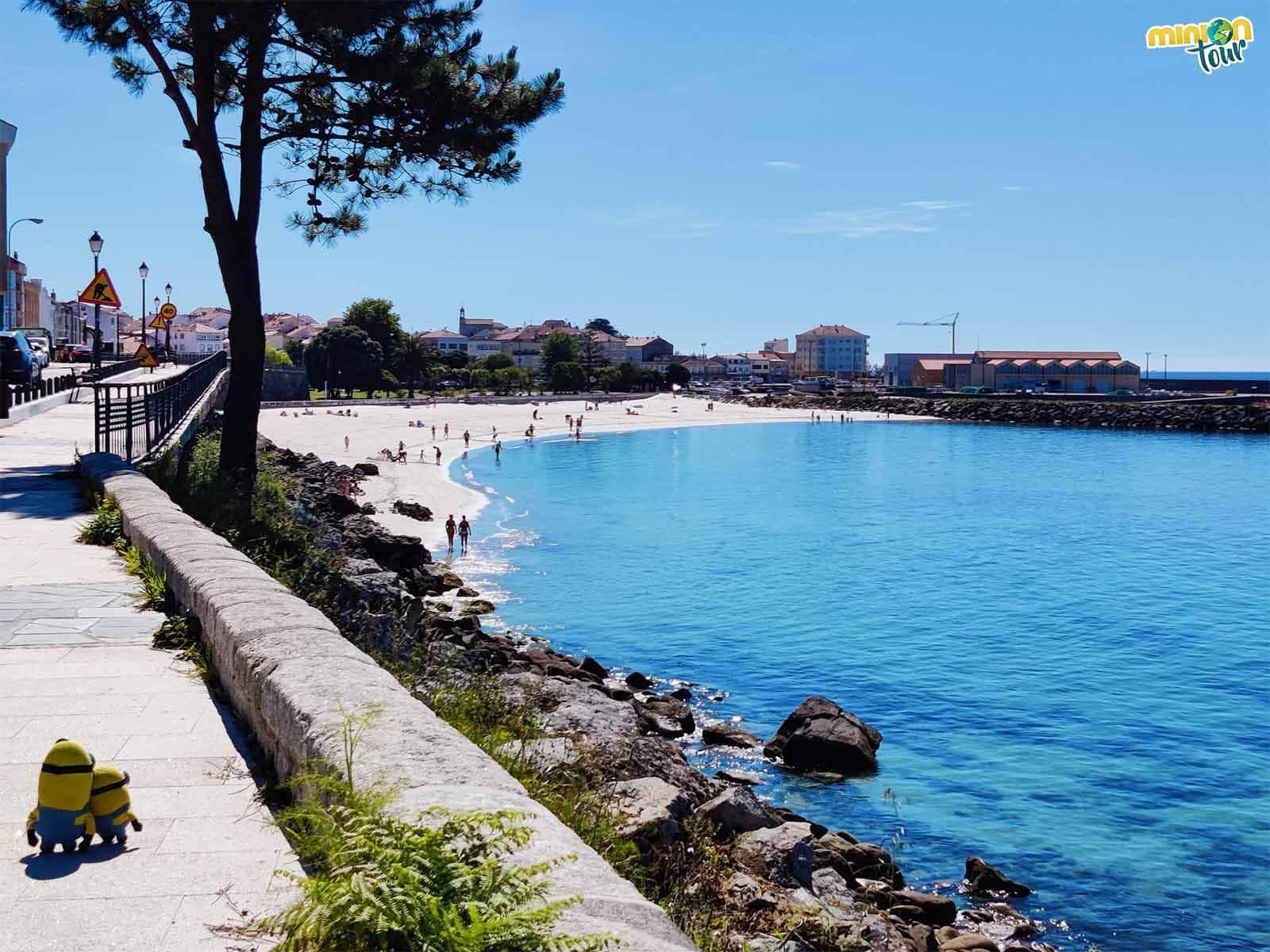 Porto do Son es un pueblo cuqui de la Ría de Muros y Noia