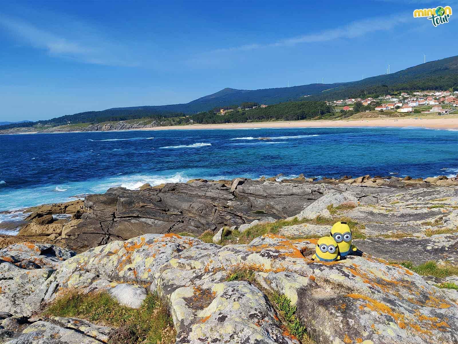 Las vistas de la costa desde Porto Nadelas nos gustaron un montón