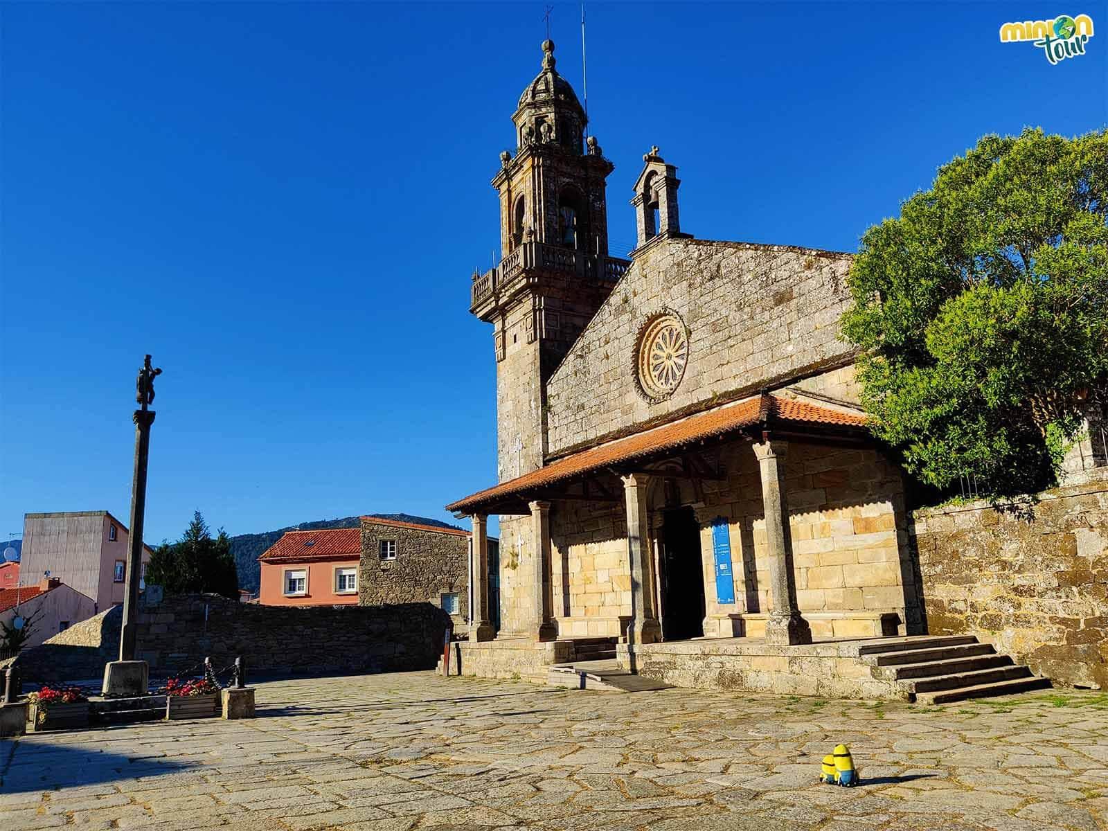 San Pedro de Muros es otra iglesia chula que ver en la Ría de Muros y Noia
