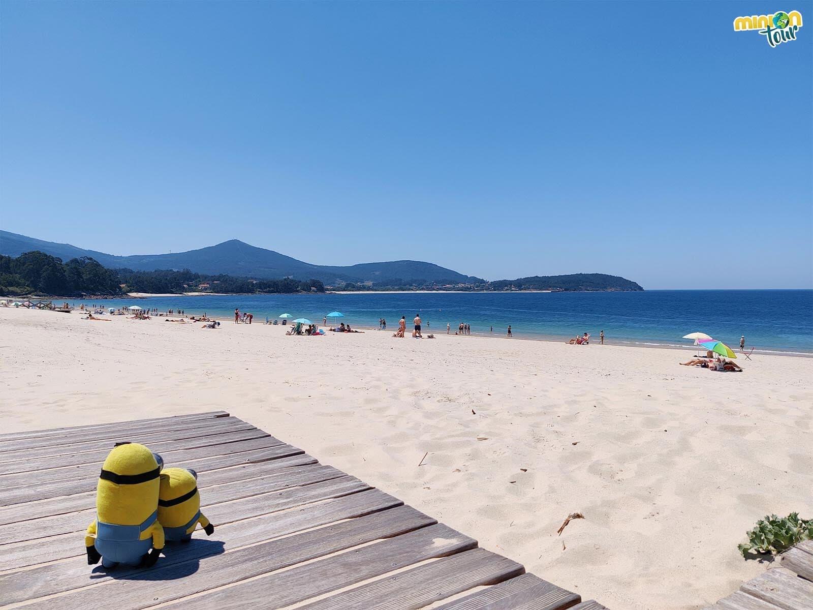 La Playa de Coira es una de las playas chulas de la Ría da Estrela