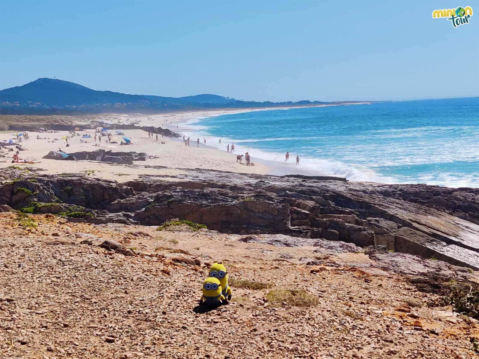 La Playa das Furnas es otro imprescindible que ver en la Ría da Estrela