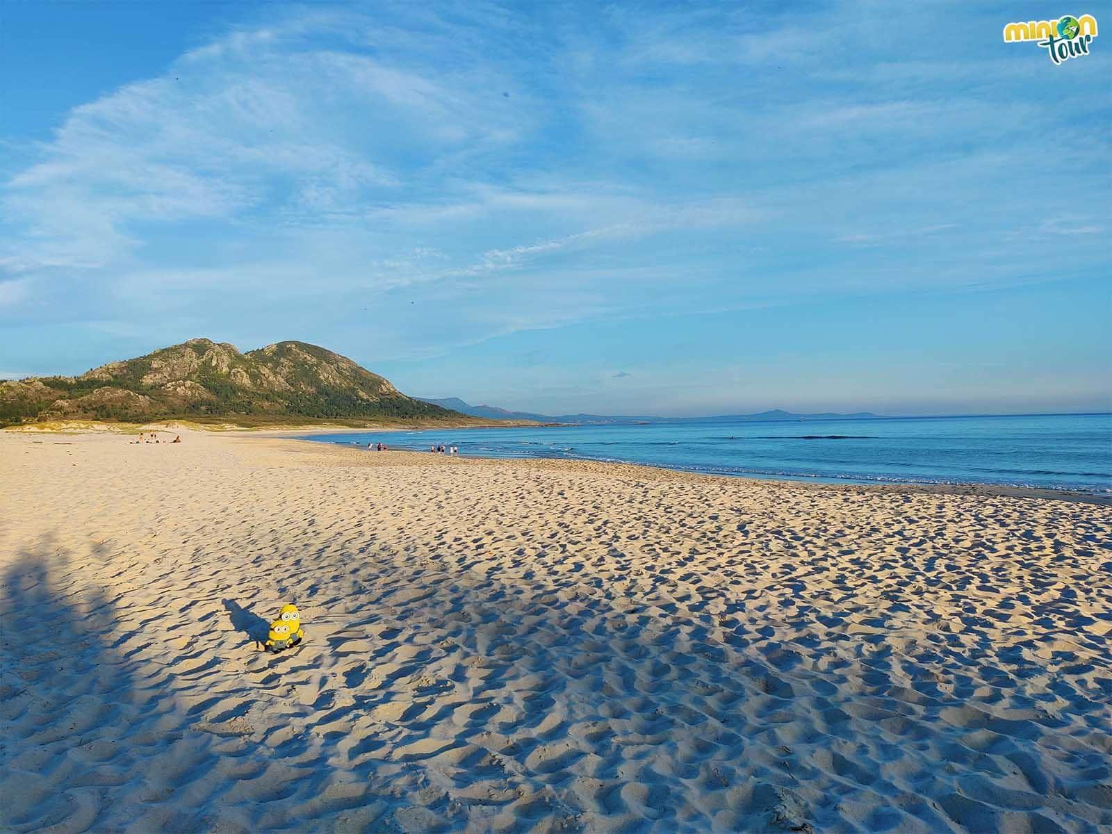 La Playa de Area Maior es una de las playas que tienes que ver en la Ría de Muros y Noia